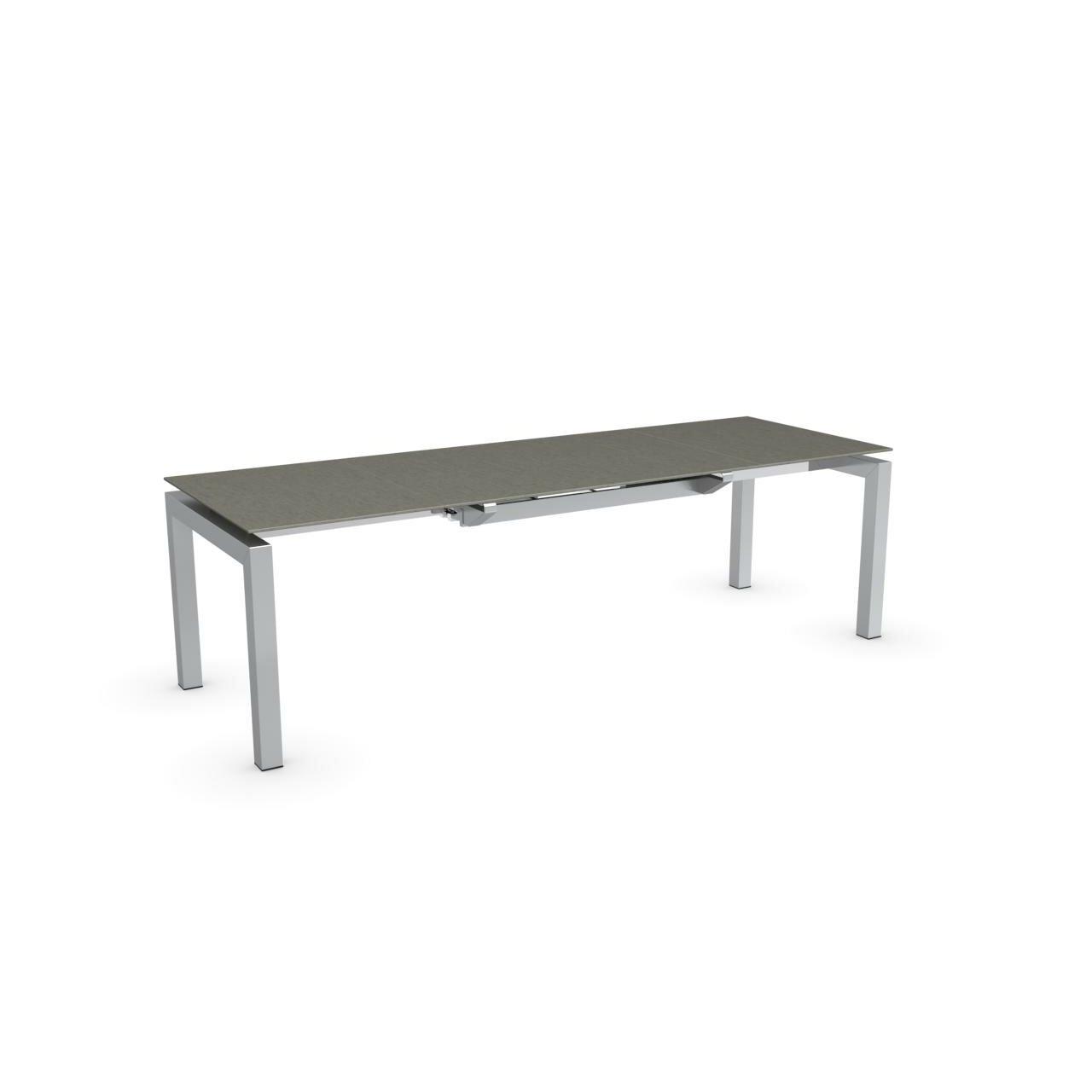 Calligaris airport rectangular counter height extendable for Tavolo airport calligaris