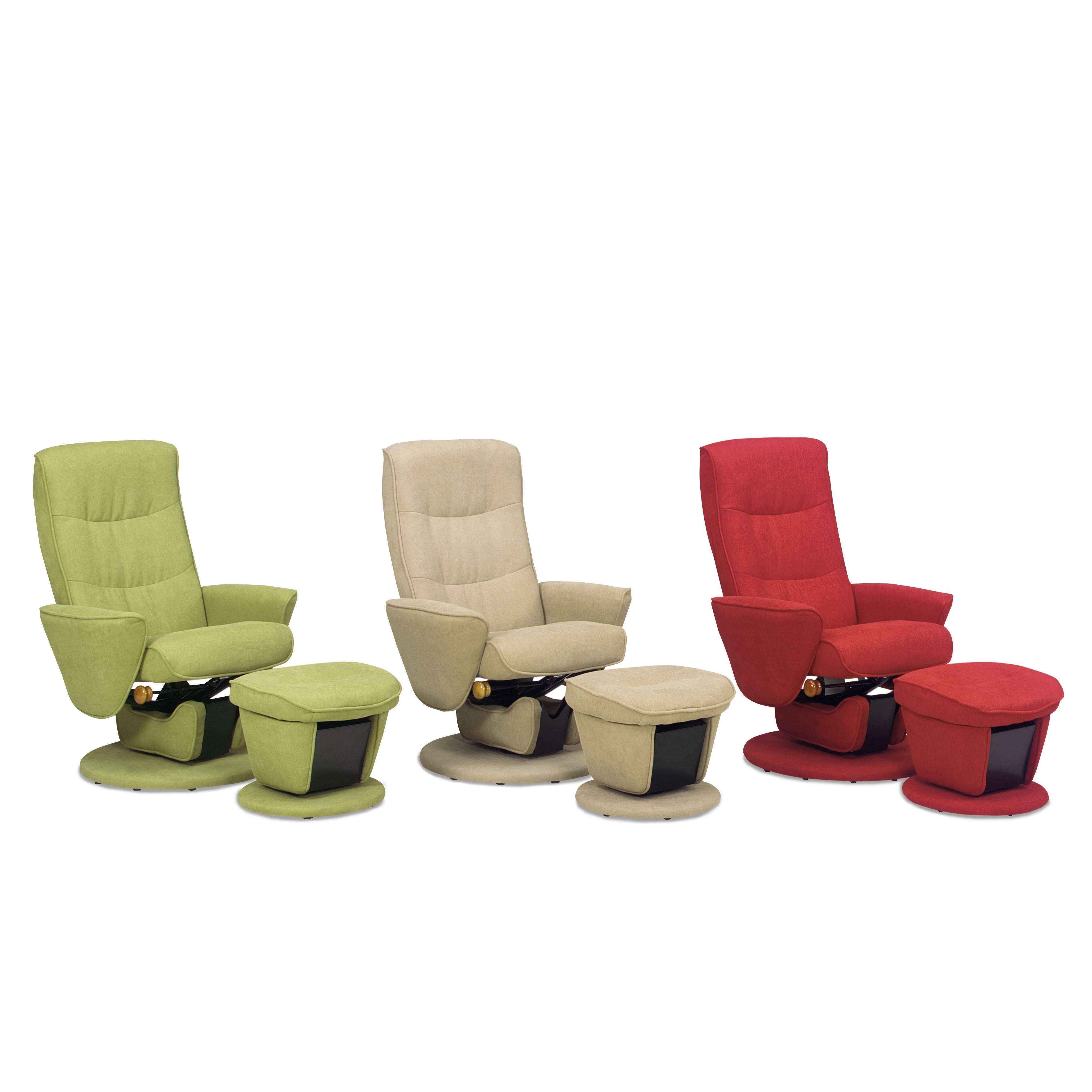 Mac Motion Relax R Laval Fabric Swivel Glider And Ottoman