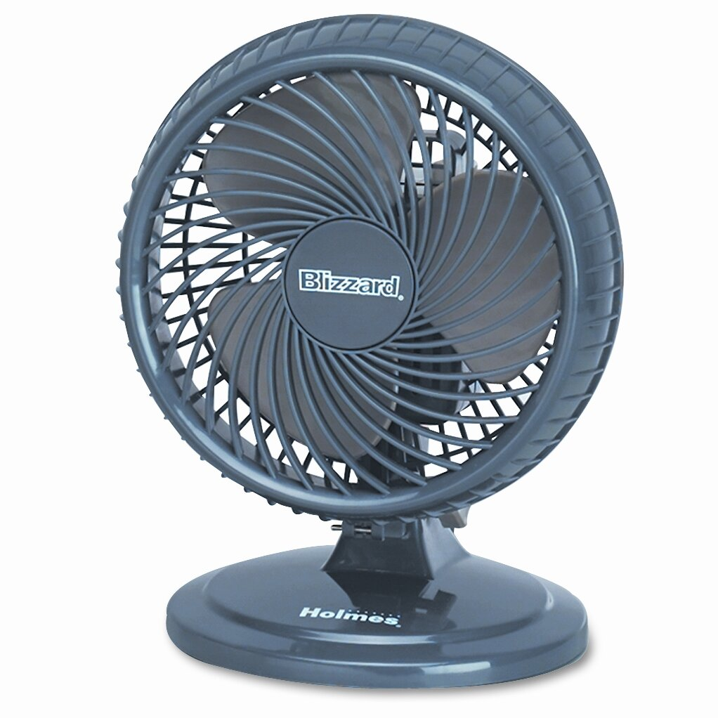 Blizzard Oscillating Fan : Holmes products lil blizzard quot oscillating table
