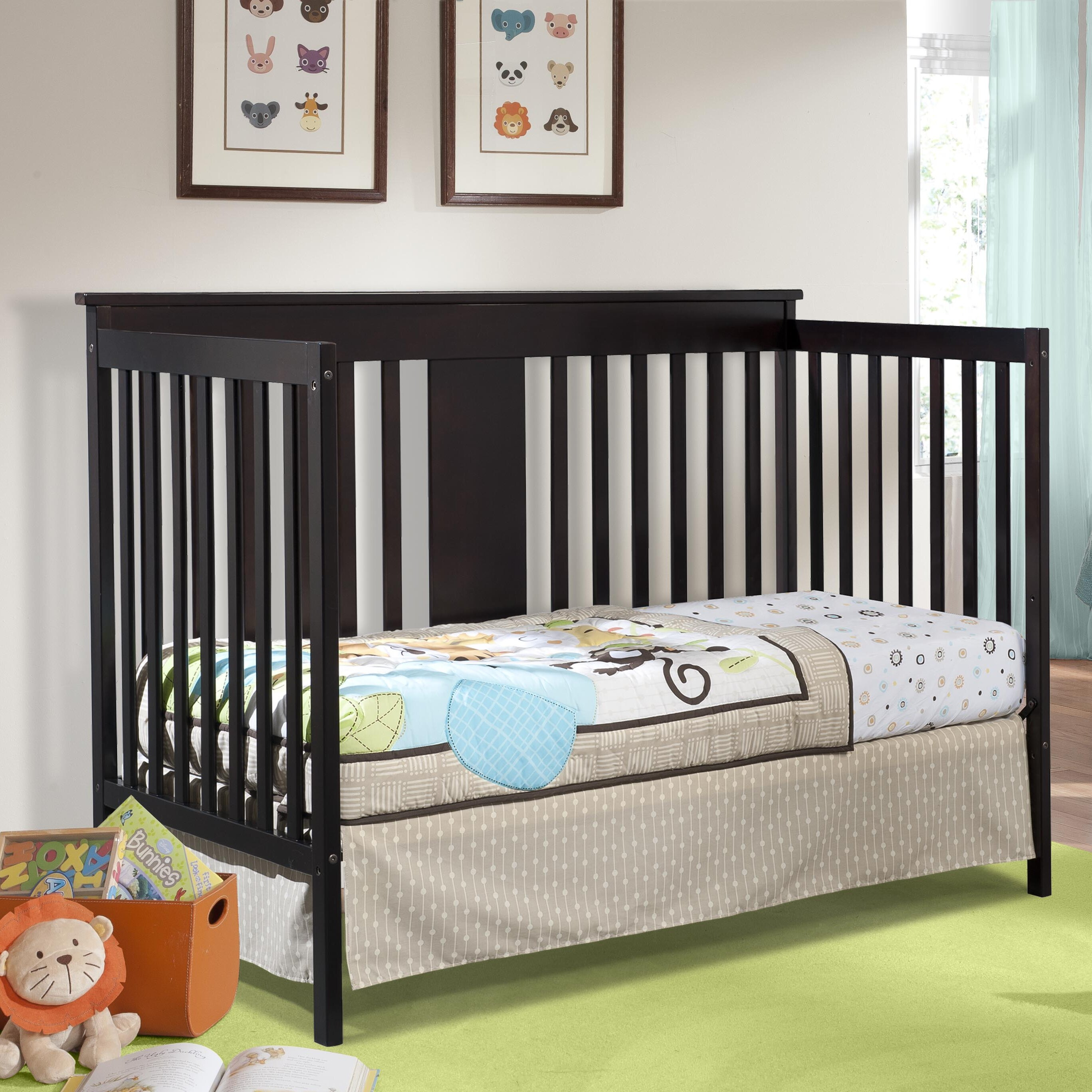 Storkcraft Mission Ridge Stages 3-in-1 Convertible Crib ...