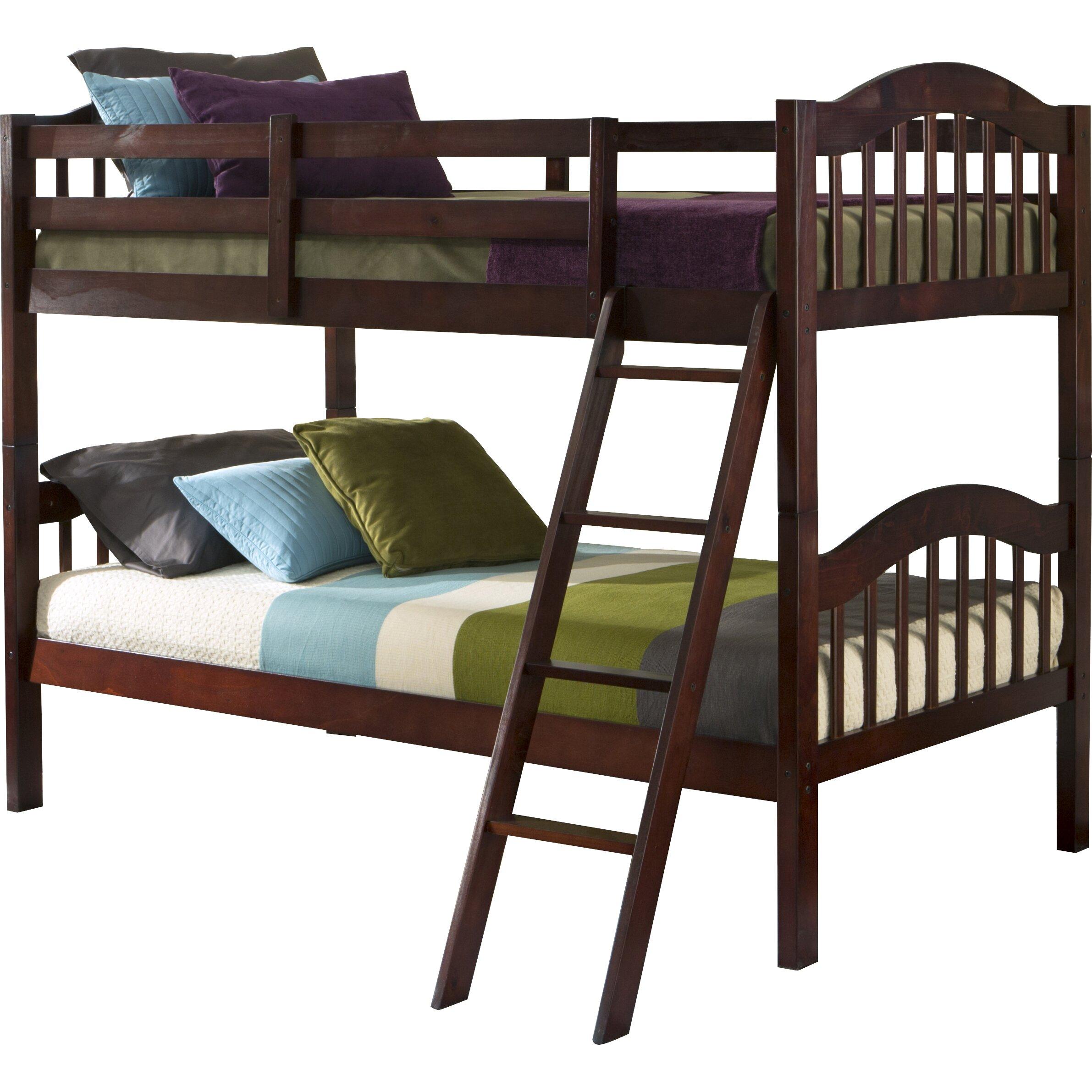 Storkcraft bunk bed storkcraft caribou bunk bed espresso for Stork craft caribou bunk bed