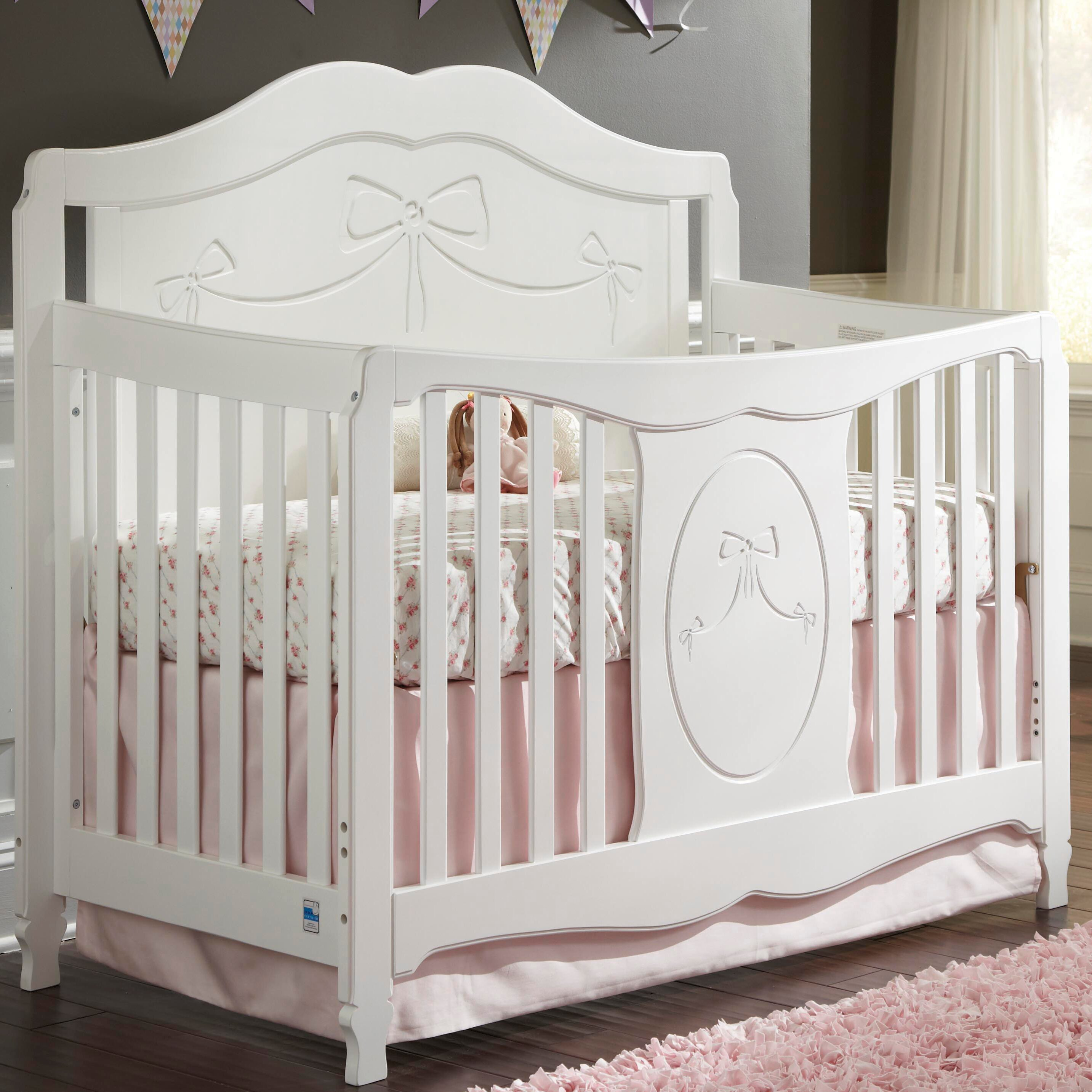 storkcraft princess convertible crib reviews wayfair