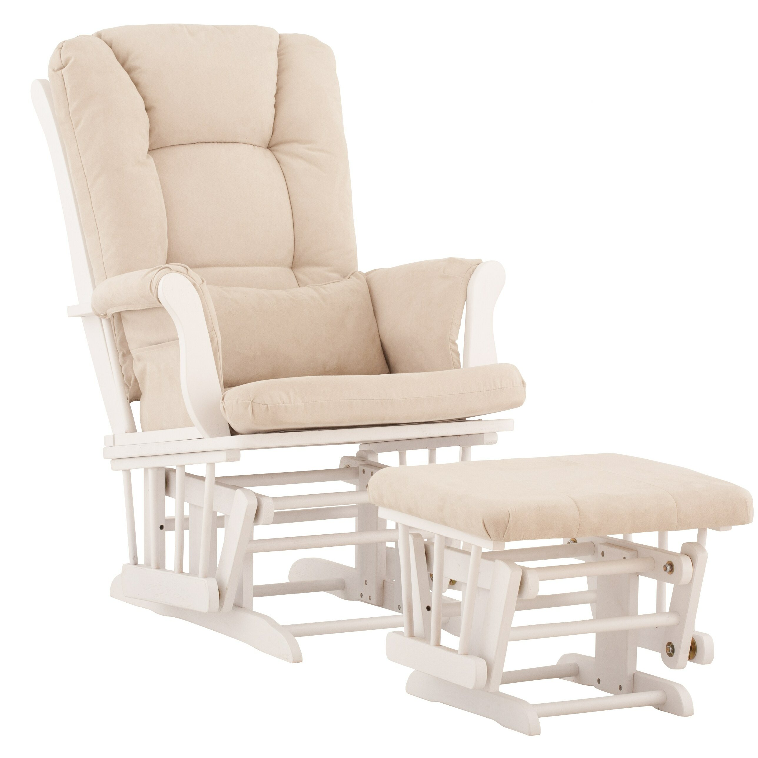 Storkcraft tuscany glider and ottoman reviews for Stork craft tuscany glider rocking chair ottoman