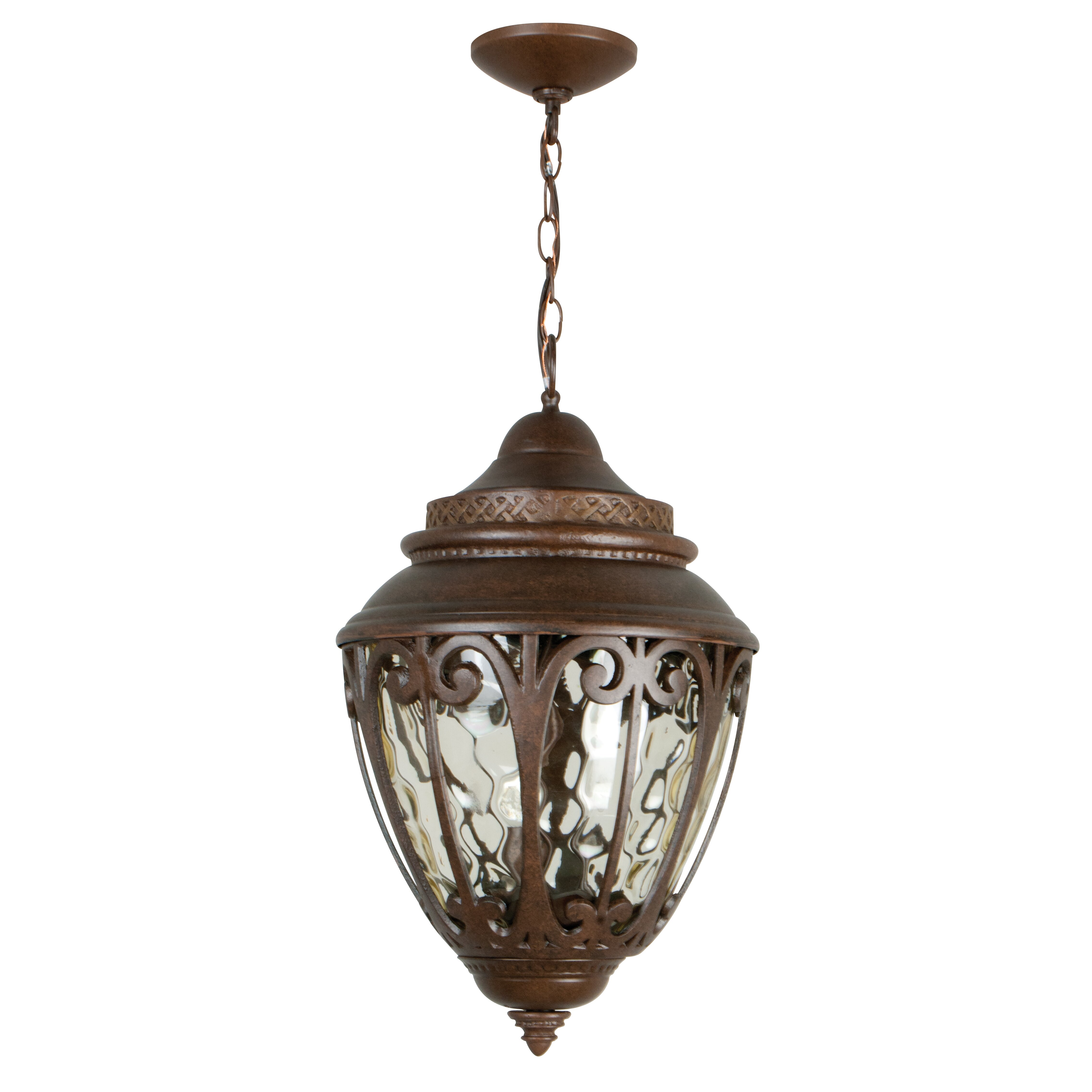 Wayfair Outdoor Hanging Lights: Craftmade 3 Light Outdoor Hanging Lantern