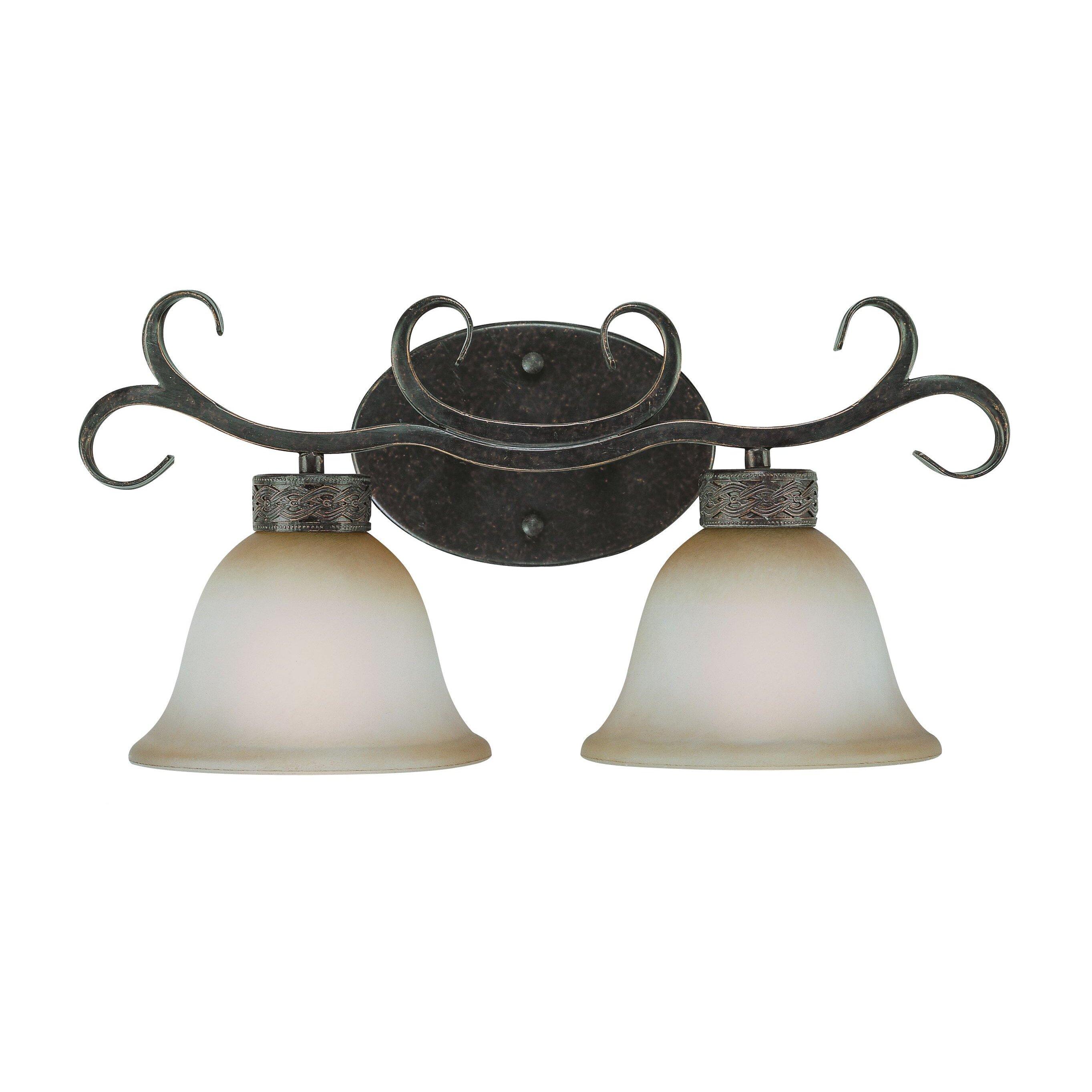 Craftmade Brookshire Manor 2 Light Vanity Light & Reviews Wayfair.ca