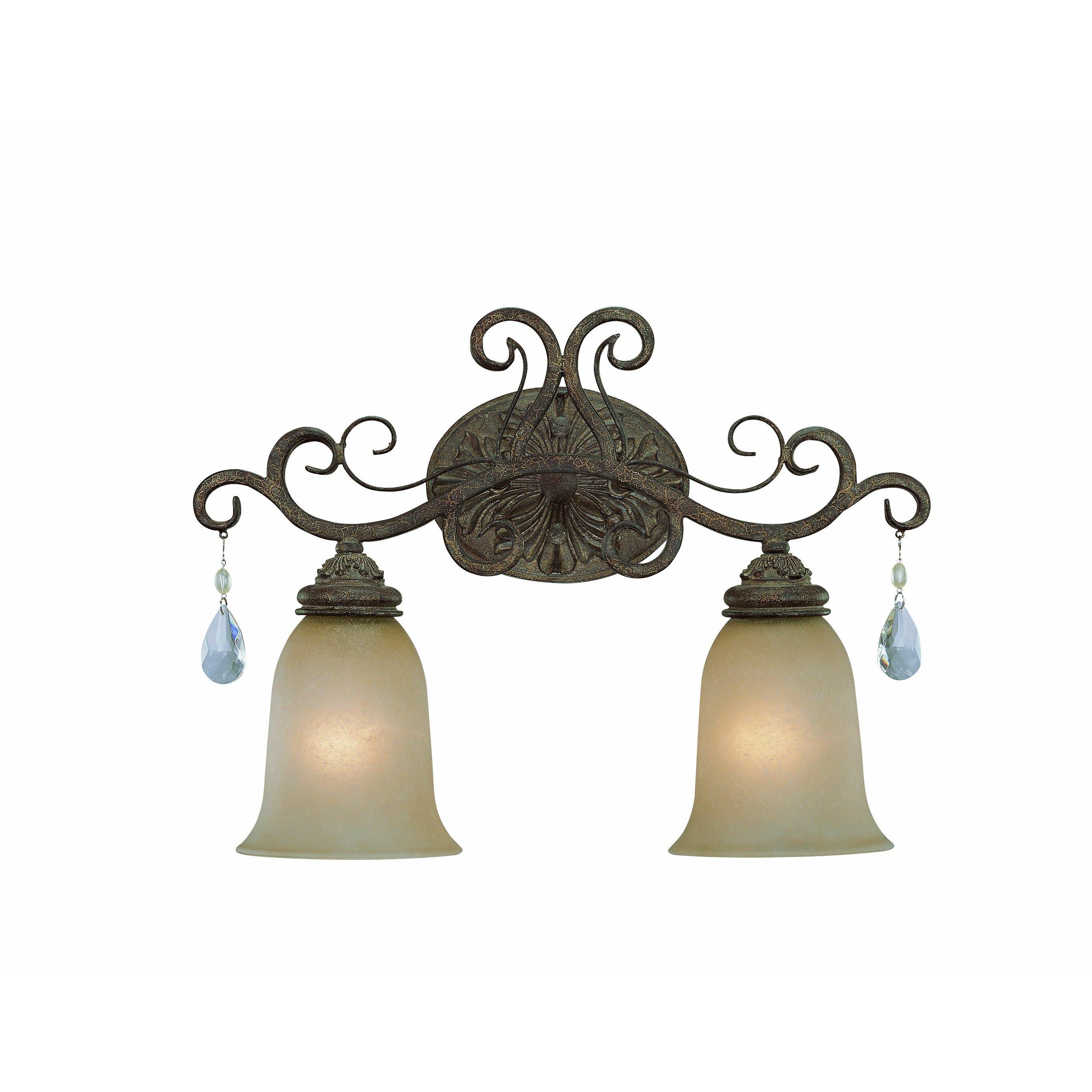 Craftmade Englewood 2 Light Vanity Light & Reviews Wayfair