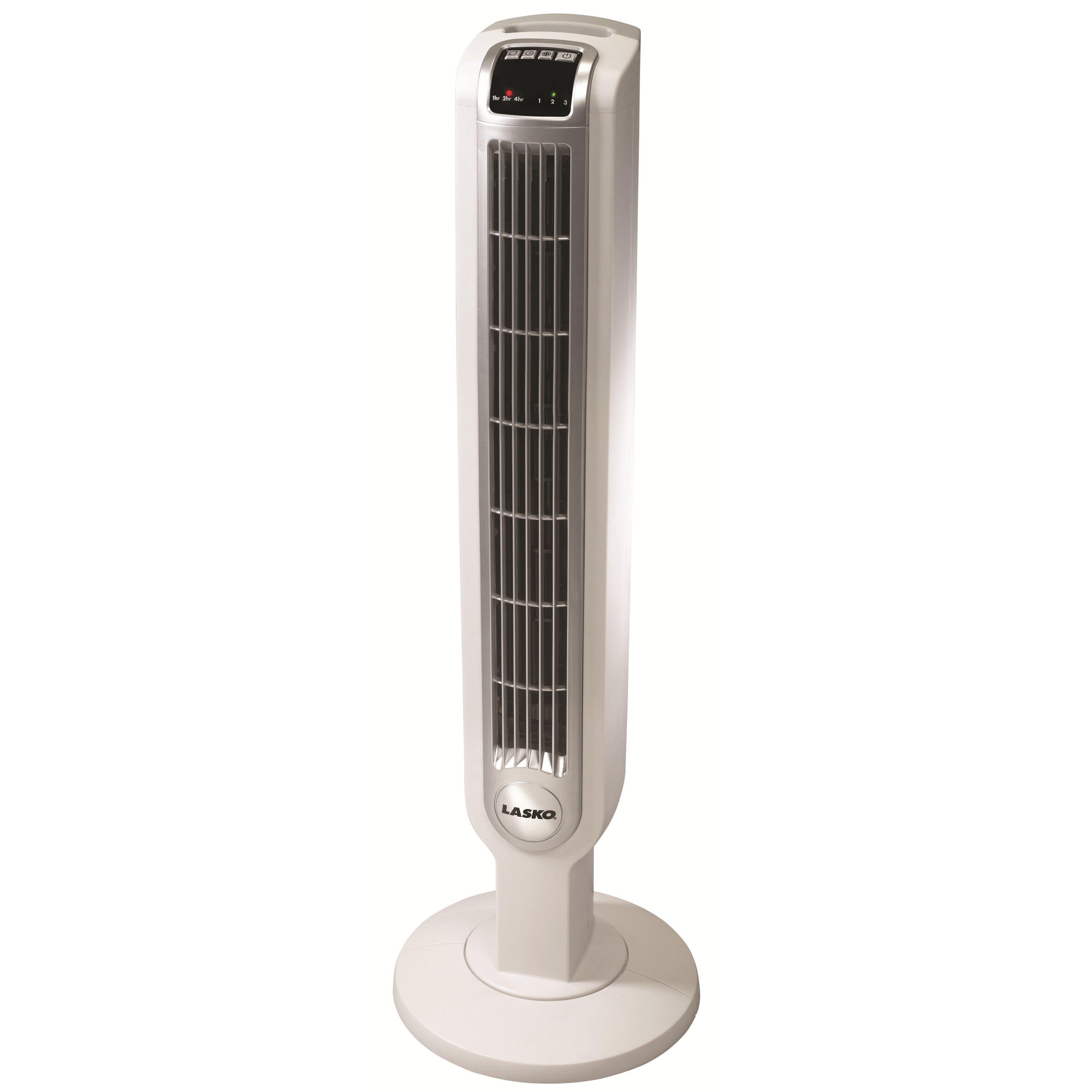 "Lasko 36"" Oscillating Tower Fan with Remote Control ..."