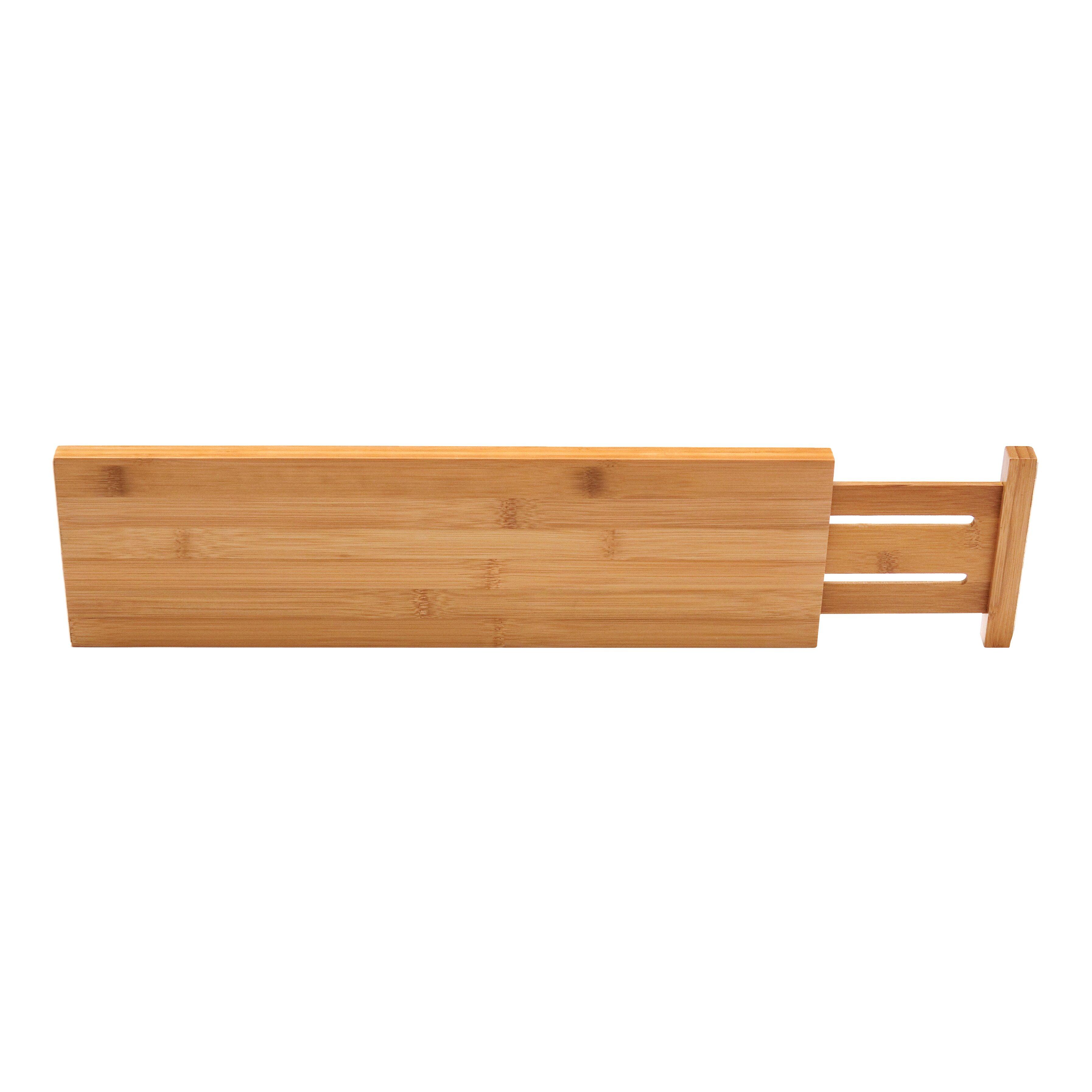 Lipper International Bamboo Kitchen Drawer Divider