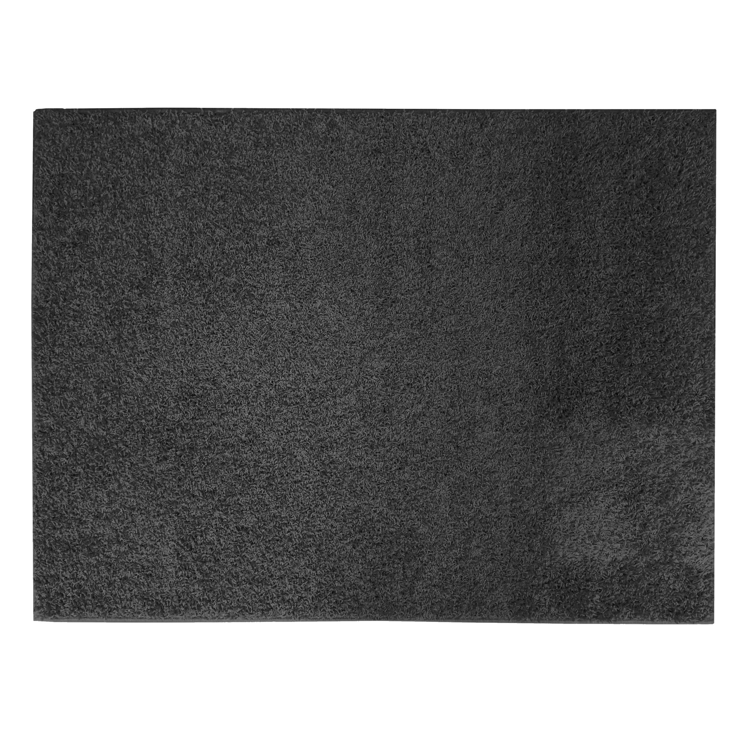 Apache Mills Soft Settings Black Shag Area Rug Reviews