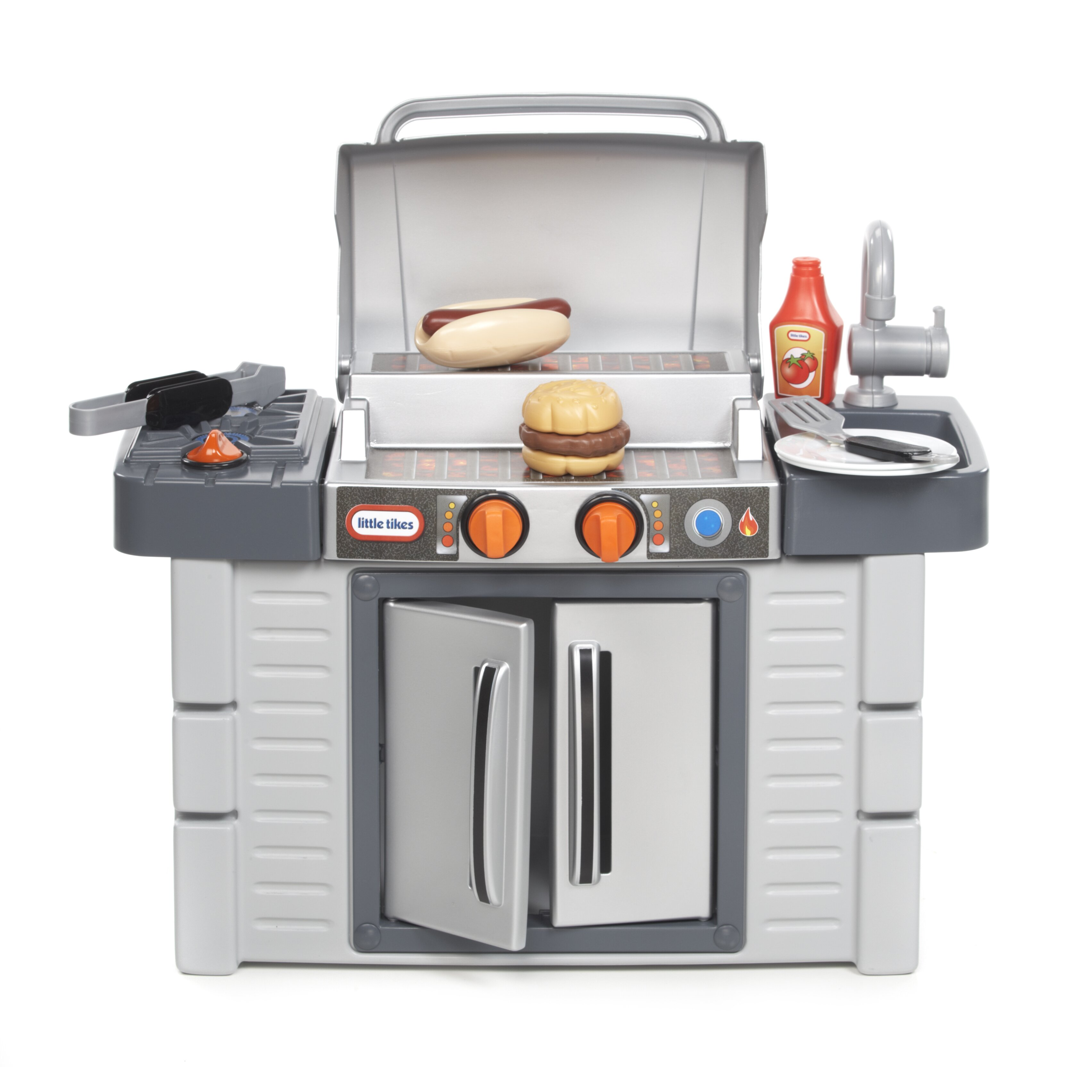 Little tikes cook 39 n grow bbq grill kitchen set reviews for Kitchen set 2 meter