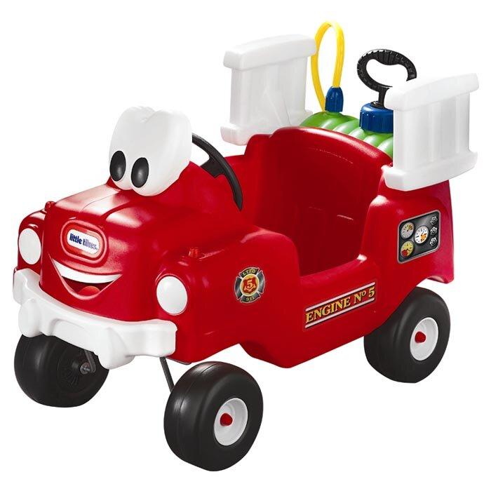Little Tikes Spray and Rescue Push Fire Truck & Reviews  Wayfair -> Kuchnie Dla Dzieci Little Tikes