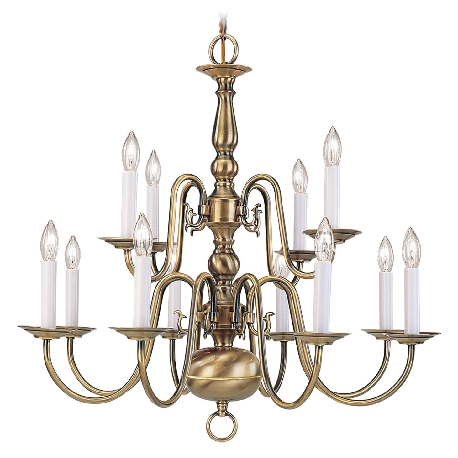 Livex Lighting Williamsburgh 12 Light Chandelier Reviews