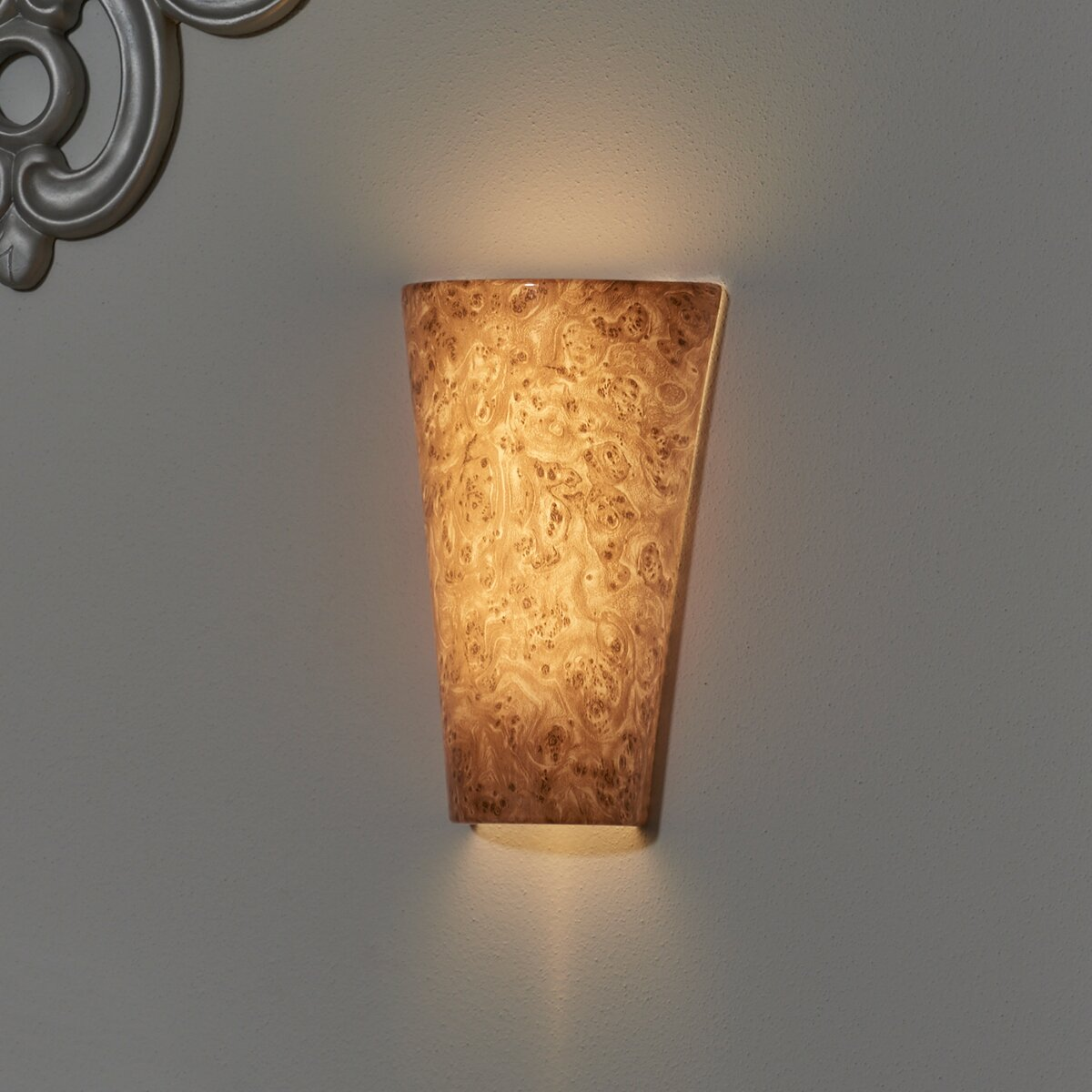 Wall Sconces Battery Powered : It s Exciting Lighting Vivid 1 Light Battery Powered Wall Sconce & Reviews Wayfair