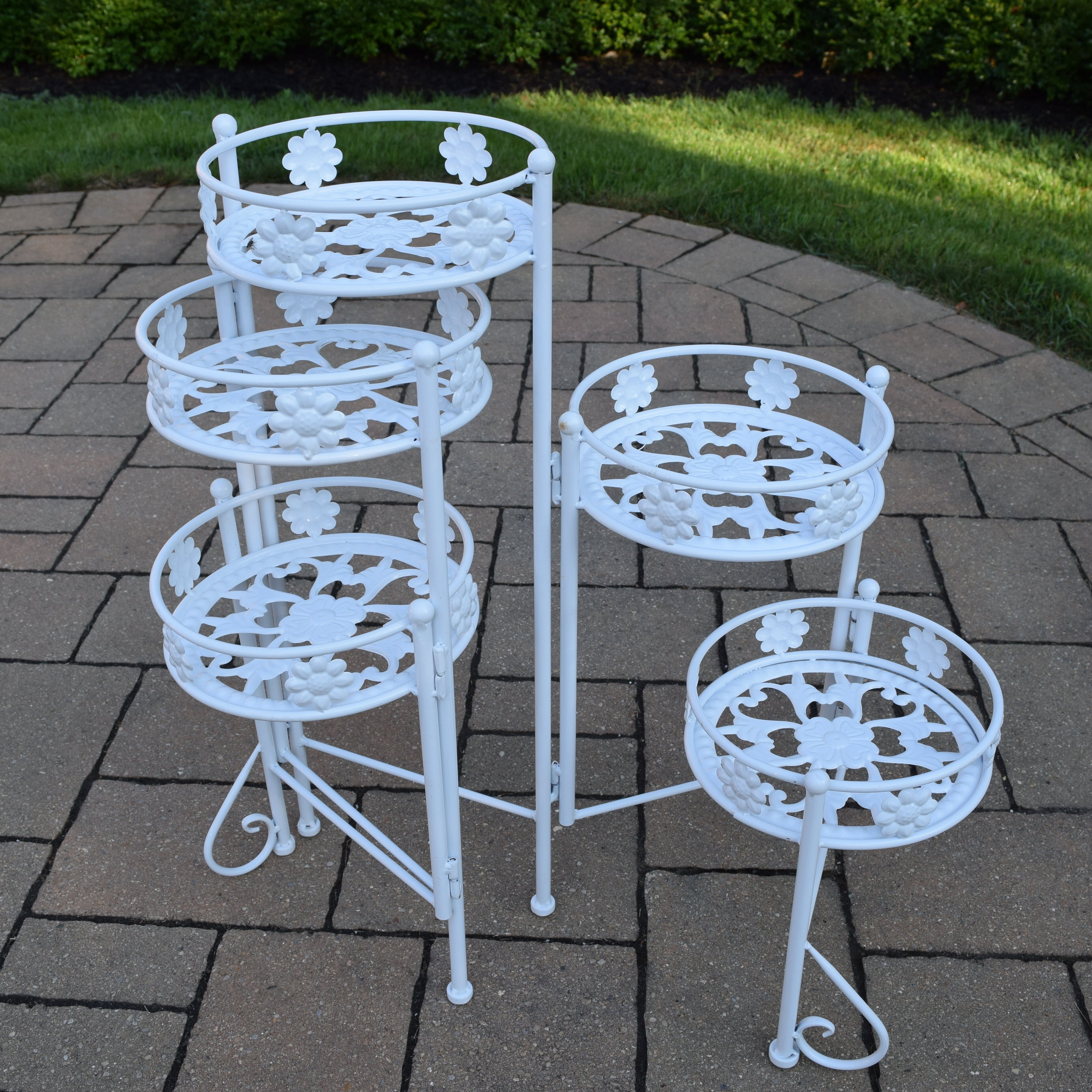 Oakland Living Multi Tiered Plant Stand Reviews Wayfair