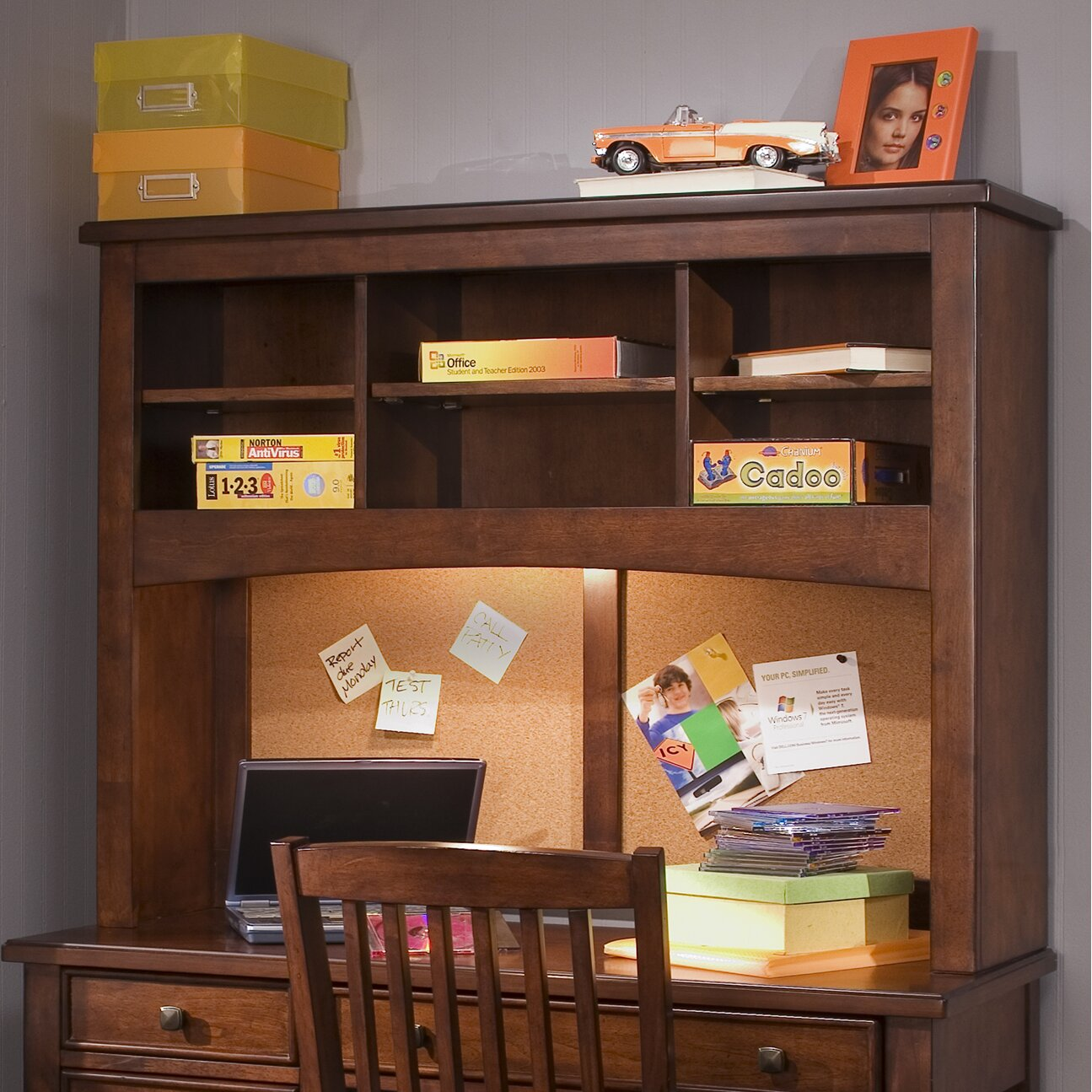 "Bedroom Furniture With Desk: Liberty Furniture Chelsea Square Youth Bedroom 44"" W"