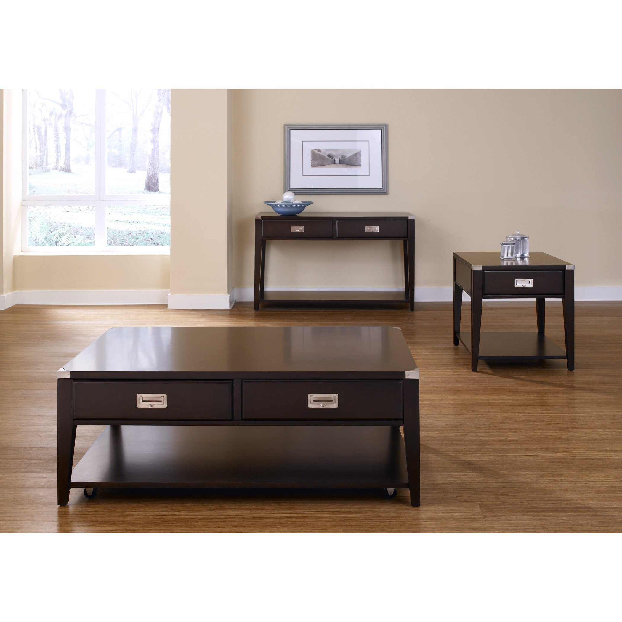 Coffee Table Sets At Wayfair: Liberty Furniture Coffee Table Set & Reviews