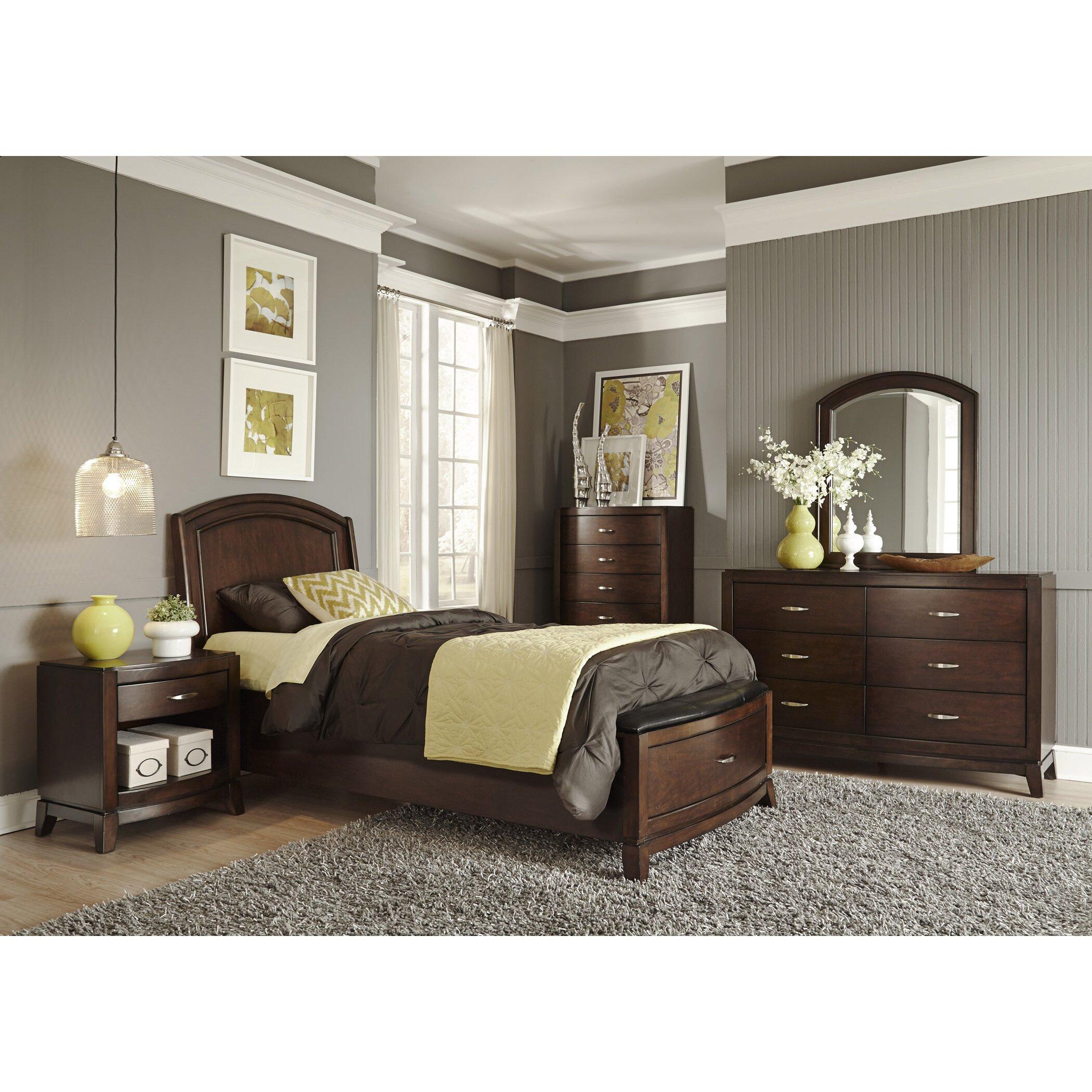 Liberty Furniture Storage Platform Customizable Bedroom Set Reviews