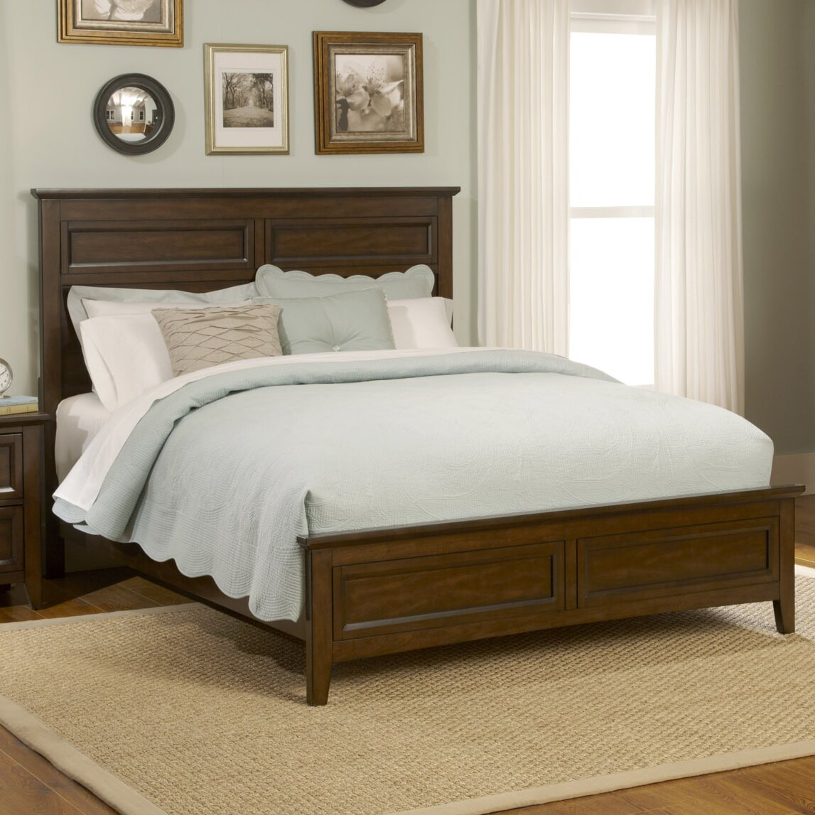 liberty furniture laurel creek panel customizable bedroom