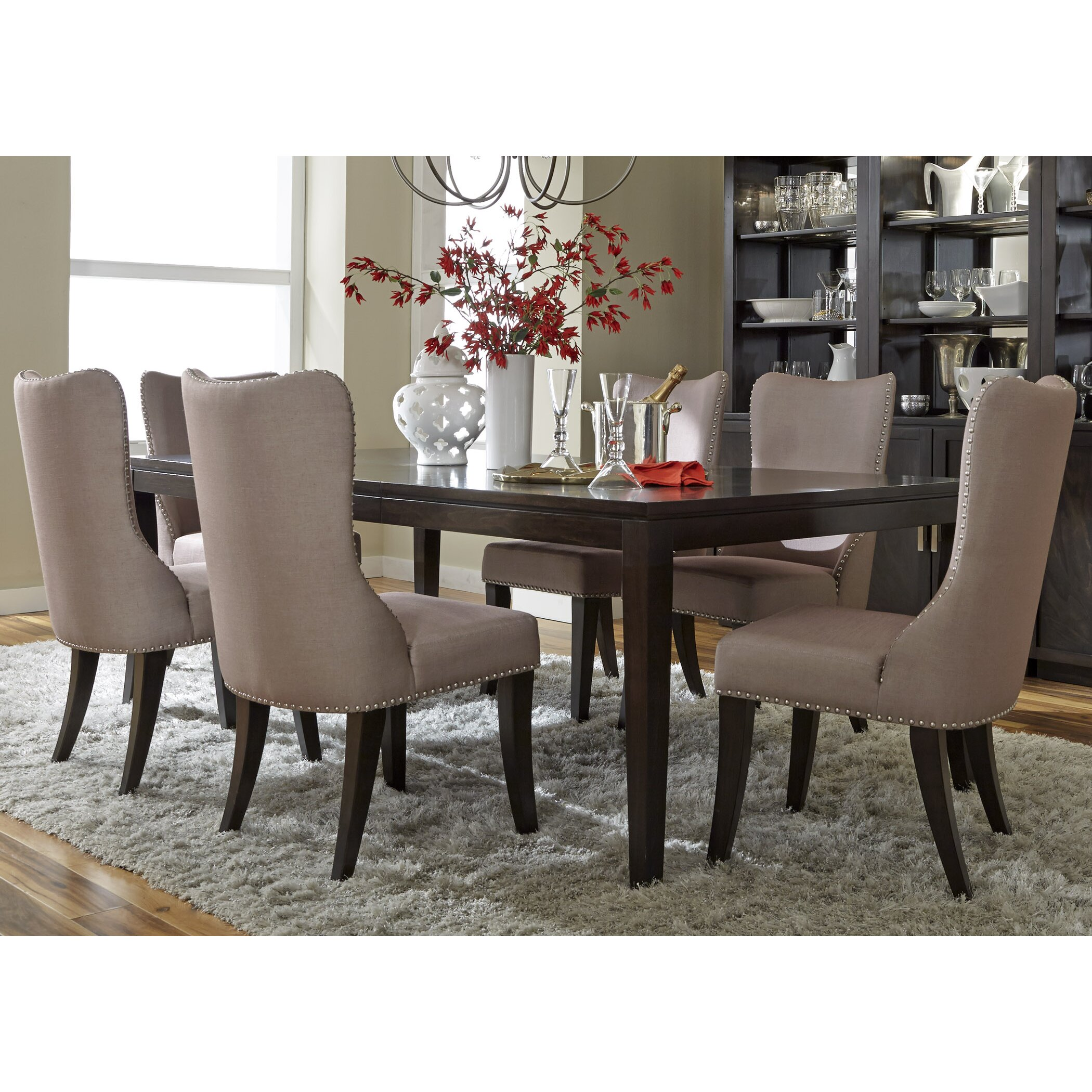 Liberty furniture 7 piece dining set reviews wayfair for 7 piece dining room set