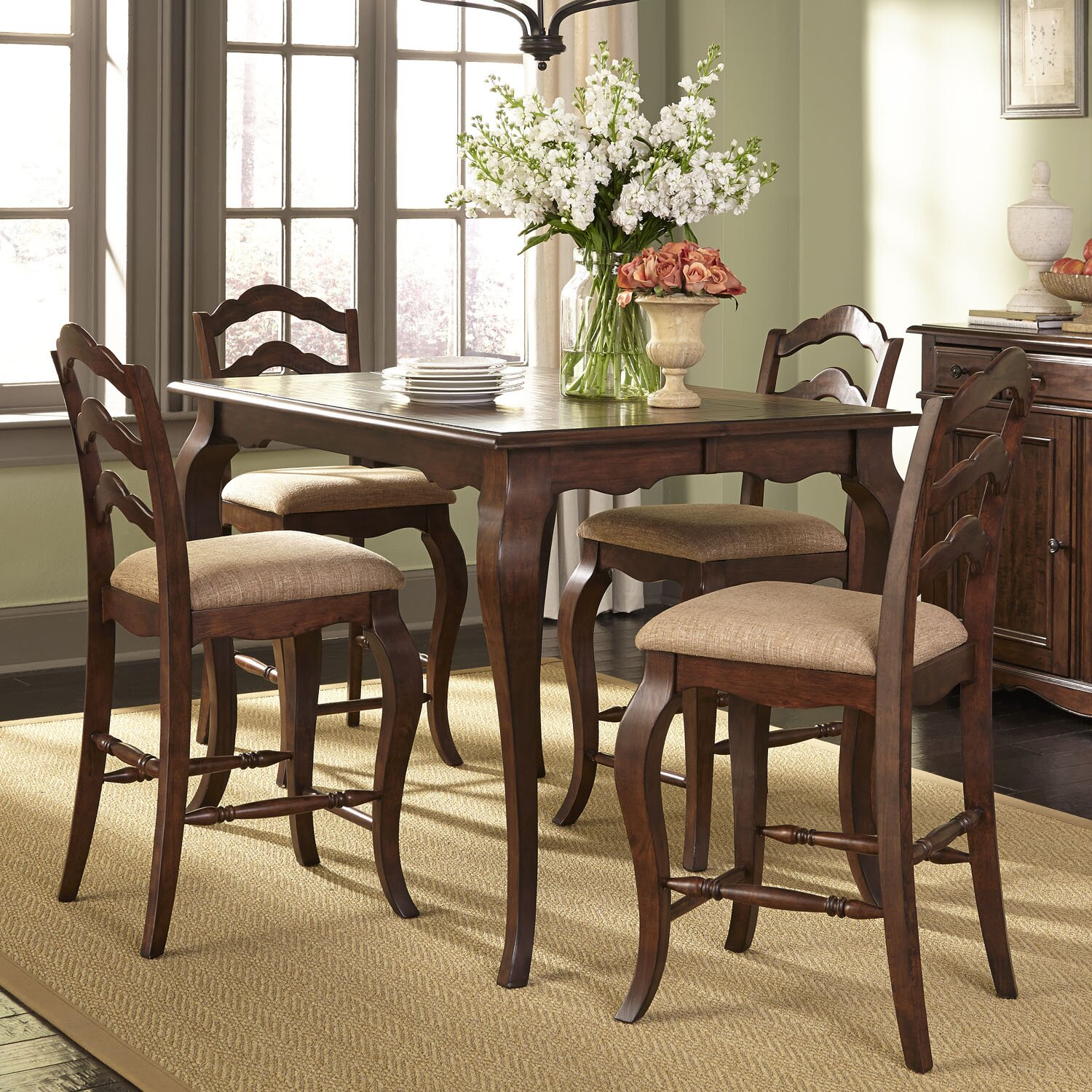 Liberty furniture dining sets liberty furniture 7 dining for Furniture 7 reviews