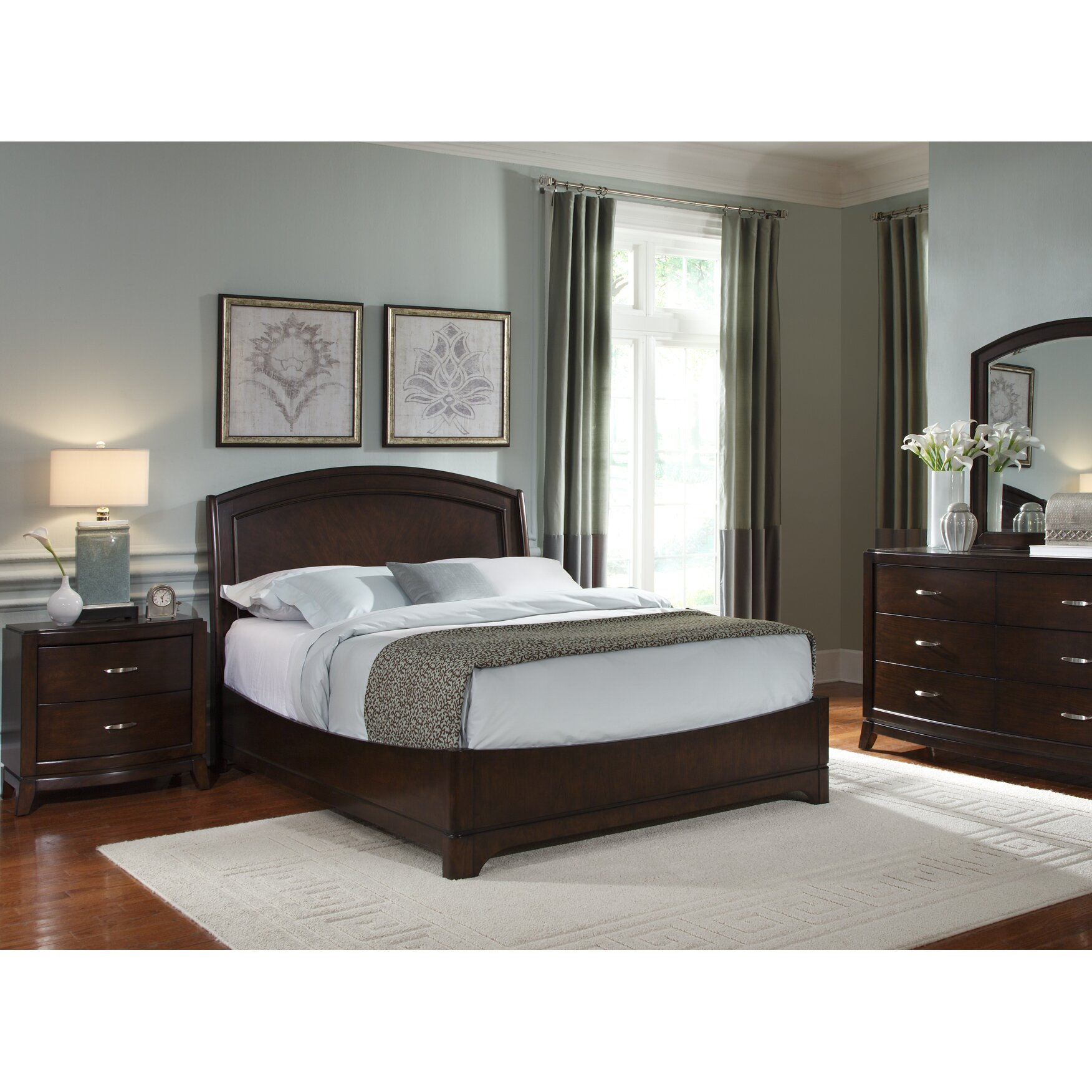 Darby Home Co Platform Customizable Bedroom Set & Reviews