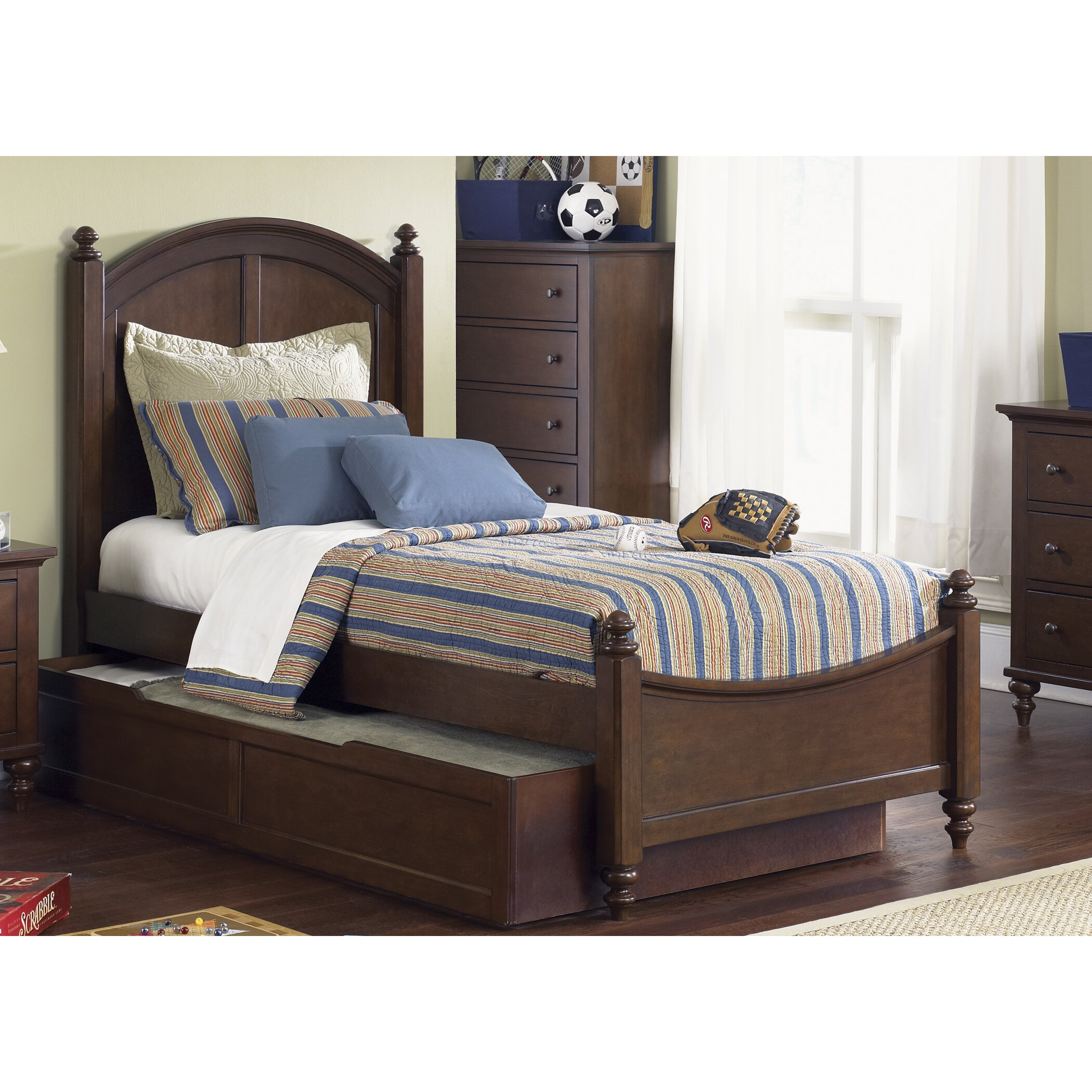 Liberty Furniture Abbott Ridge Panel Customizable Bedroom Set Reviews Wayfair