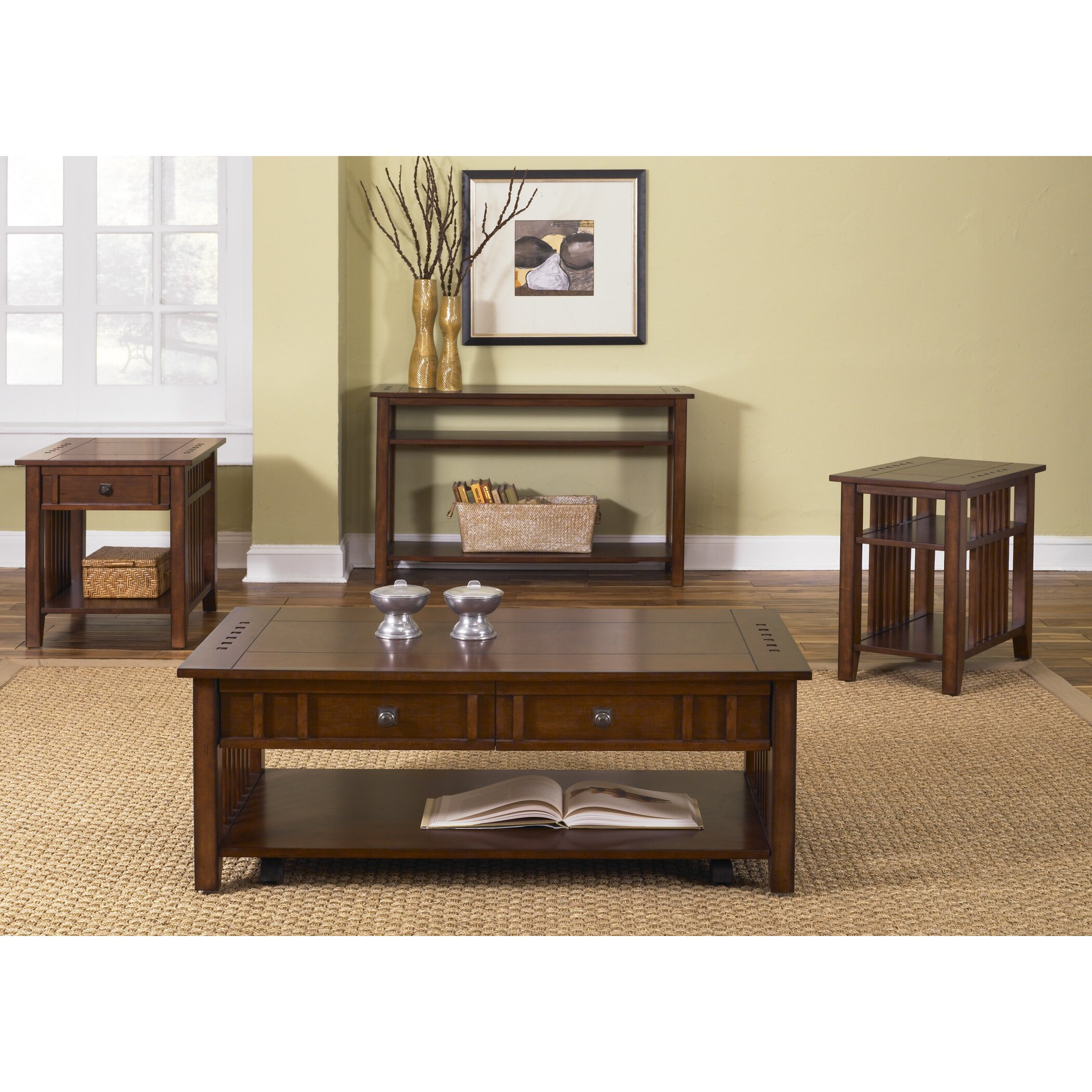 Liberty Furniture Prairie Hills Coffee Table & Reviews