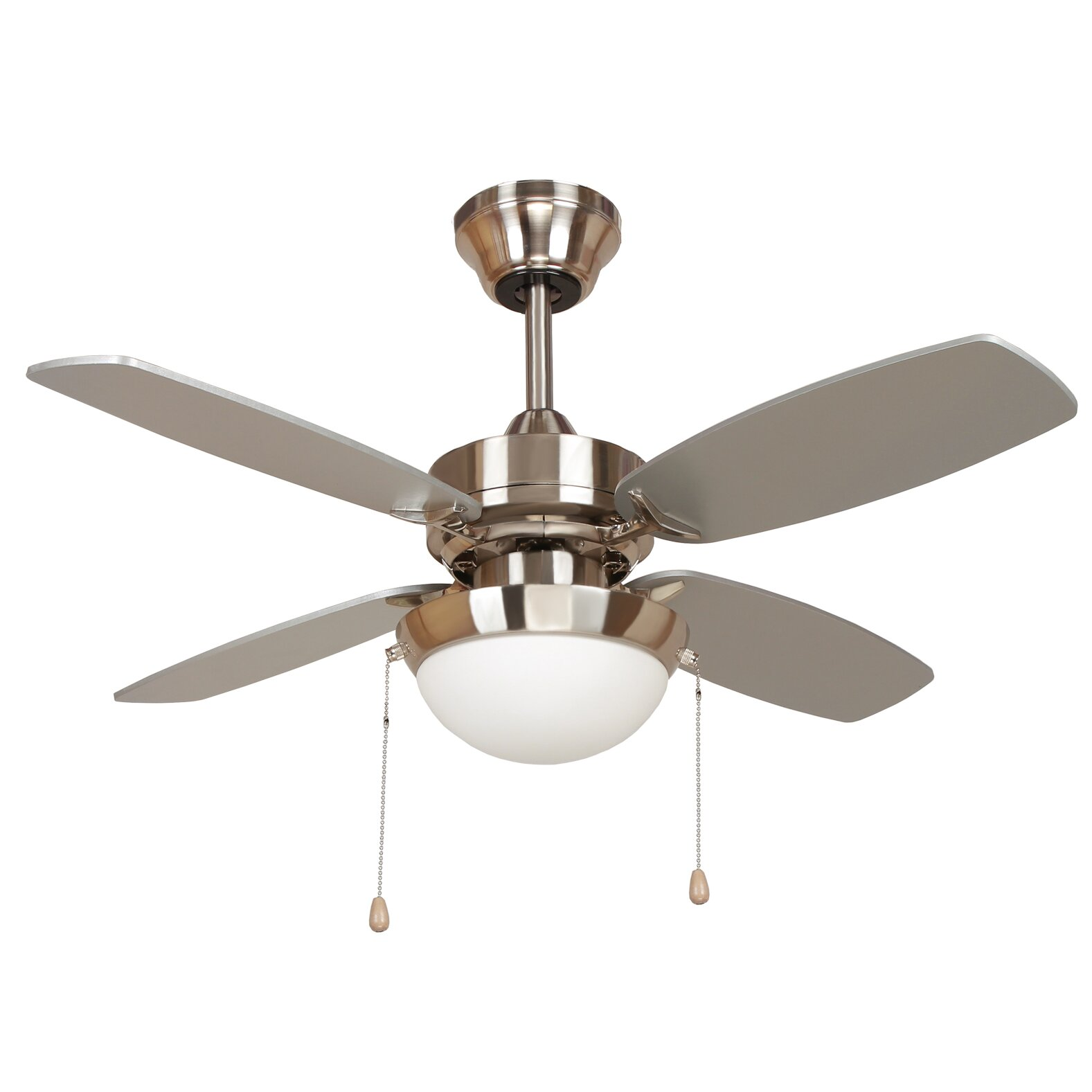 Yosemite home decor 36 ashley 4 blade ceiling fan for Home decorations fan