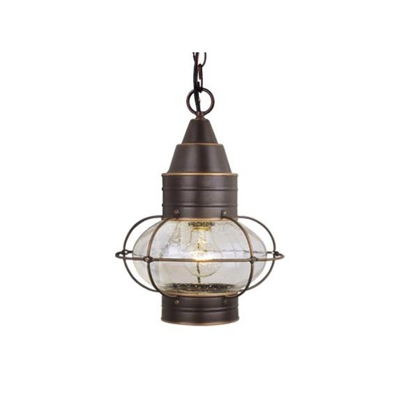 Vaxcel Nautical 1 Light Outdoor Hanging Lantern