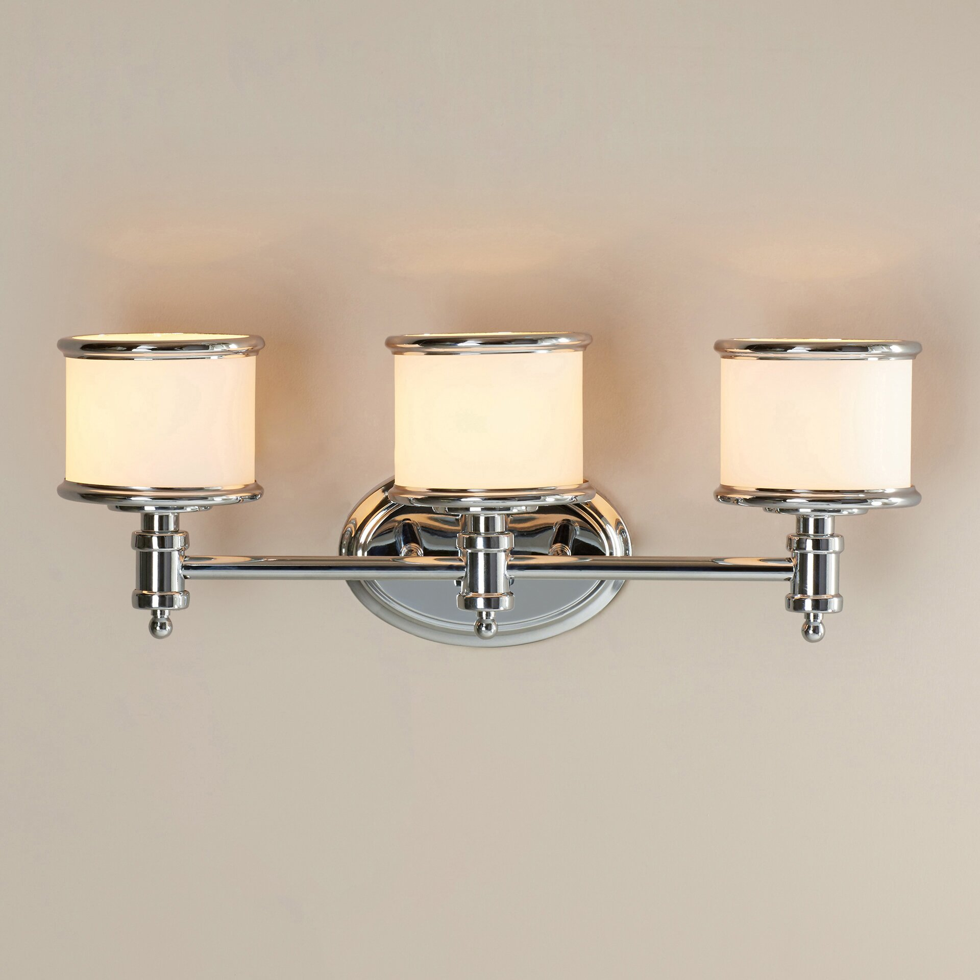 Vaxcel Carlisle 3 Light Vanity Light & Reviews