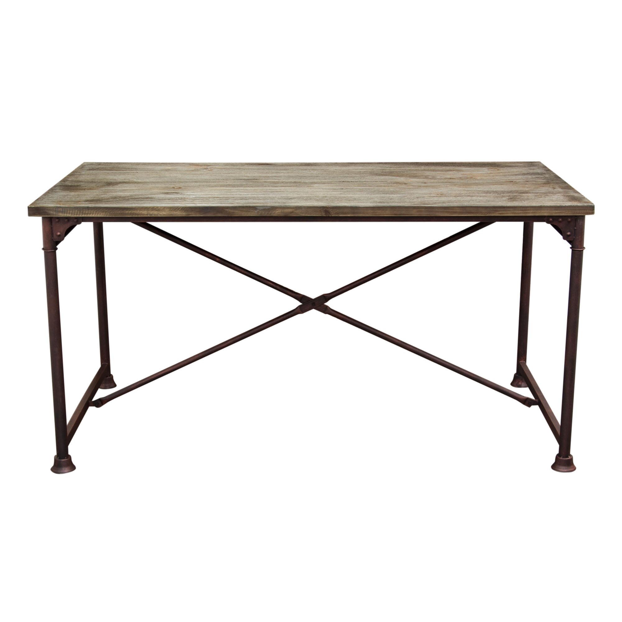 Diamond sofa dixon dining table reviews wayfair for Dining table for sofa