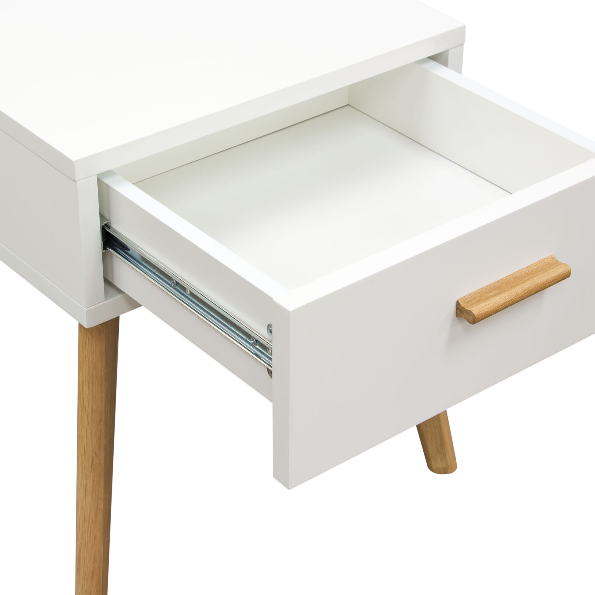Diamond sofa perch end table reviews wayfair for Sofa end tables
