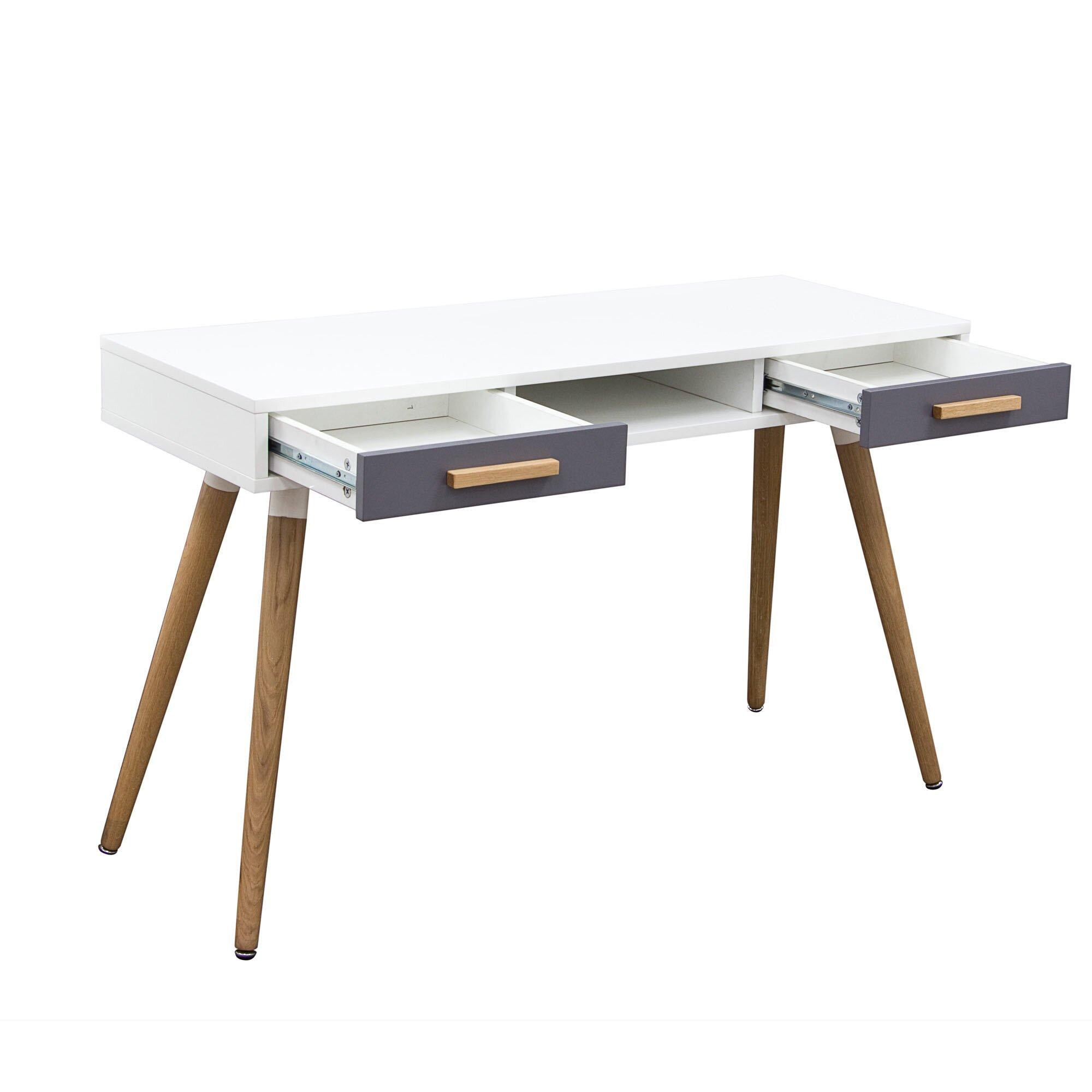 retro writing desk Buy white writing desk products like crosley campbell writing desk in white, southern enterprises aiden writing desk  walker edison's retro modern writing desk.