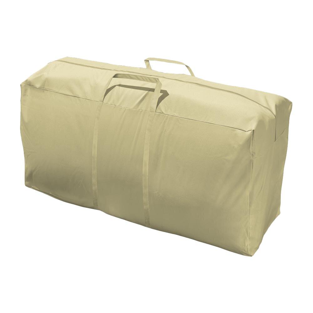 mr bar b q eco premium patio cushion storage bag cover
