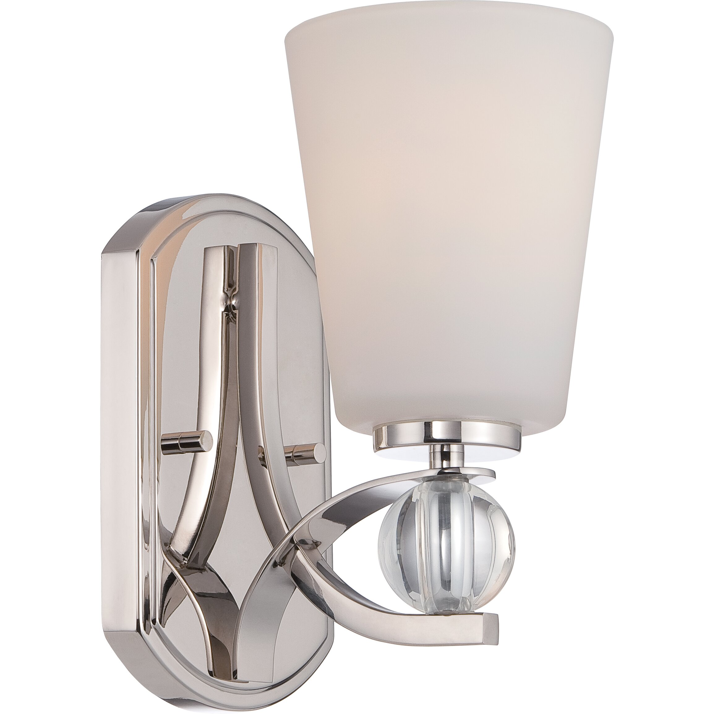 Nuvo Lighting Connie 1 Light Bath Sconce Reviews Wayfair