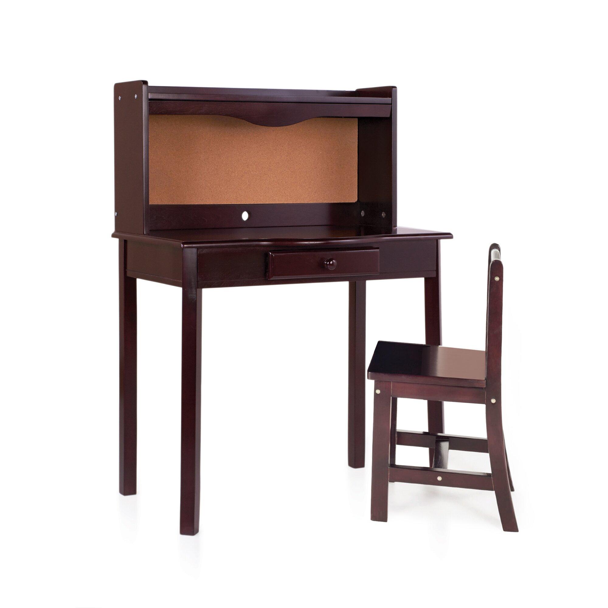 Wonderful image of Baby & Kids Kids' Bedroom Furniture Kids Desks Guidecraft SKU: EZ2859 with #8D583E color and 2000x2000 pixels