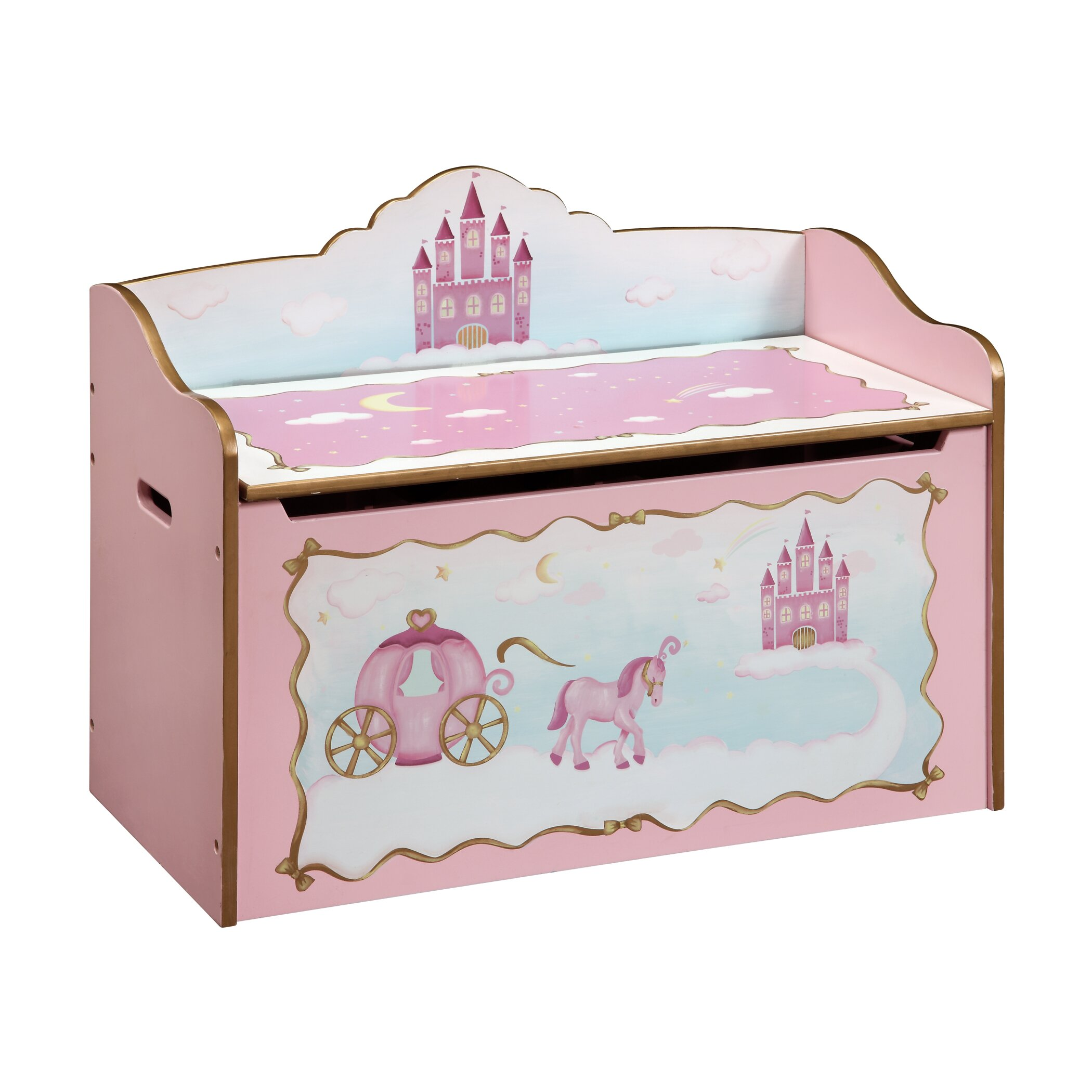 Guidecraft Princess Toy Box Amp Reviews Wayfair