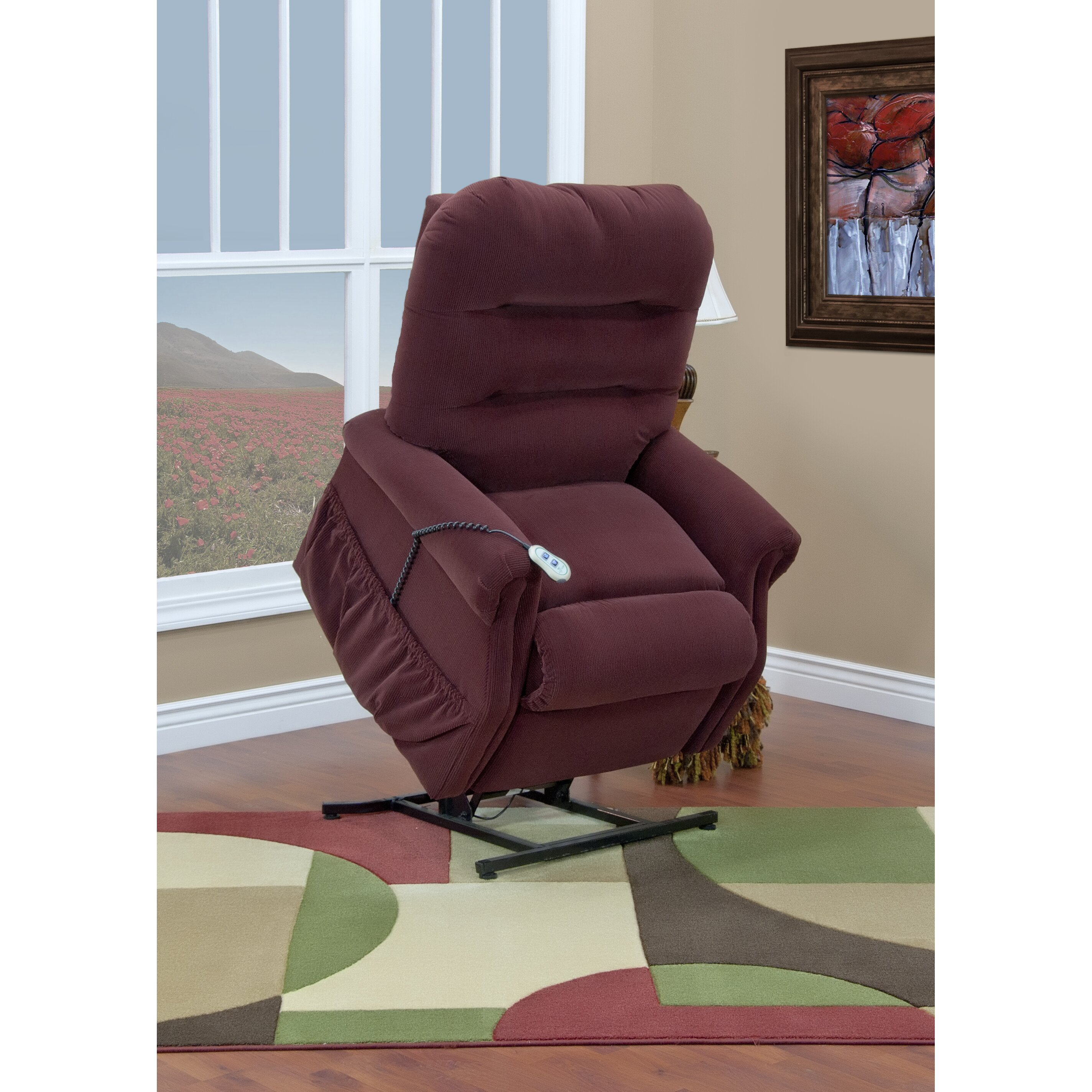 Med Lift 30 Series Wide Three Way Reclining Lift Chair
