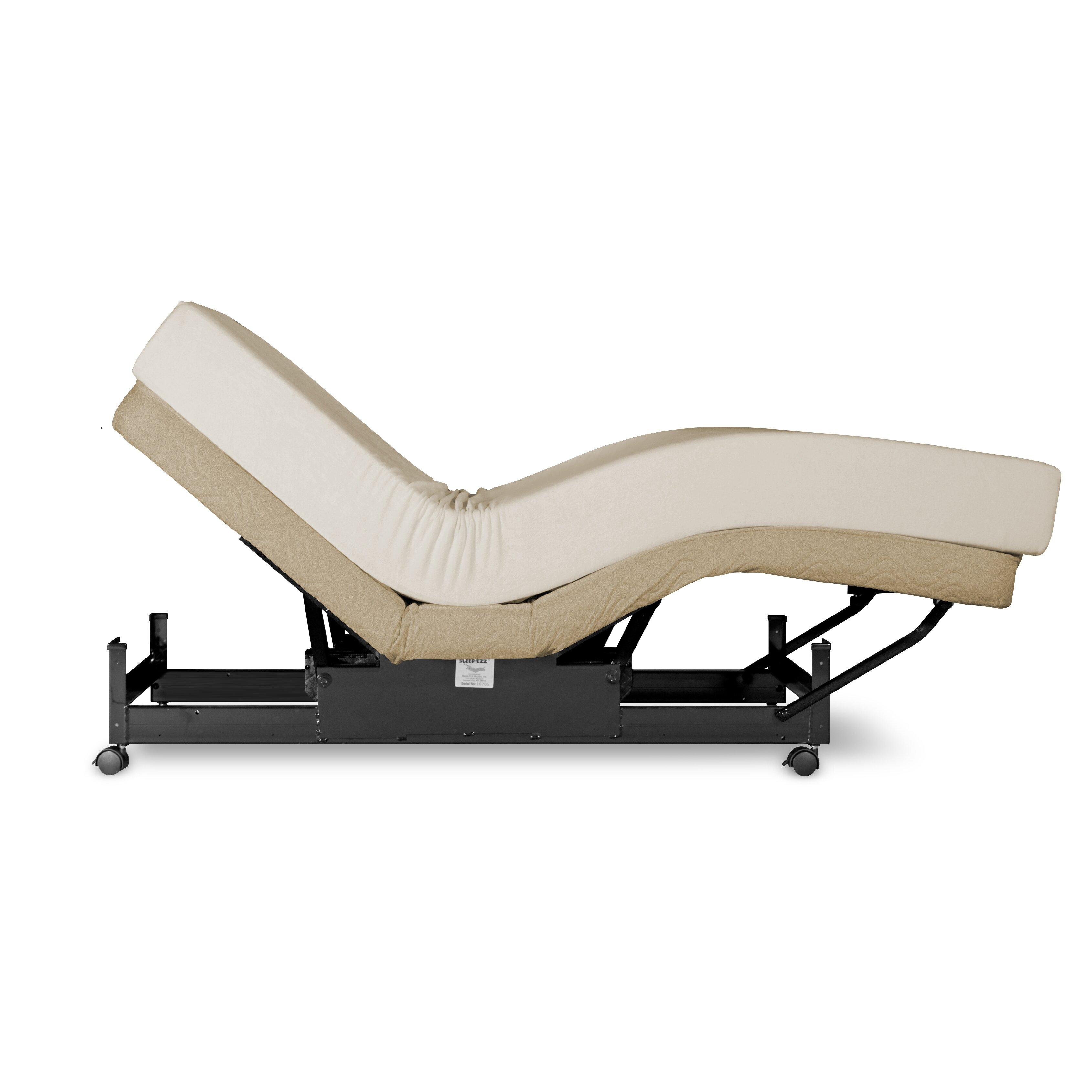 Med lift standard adjustable bed reviews wayfair for Adjustable beds