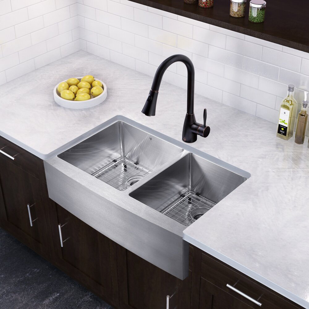 Inch Farmhouse Kitchen Sink