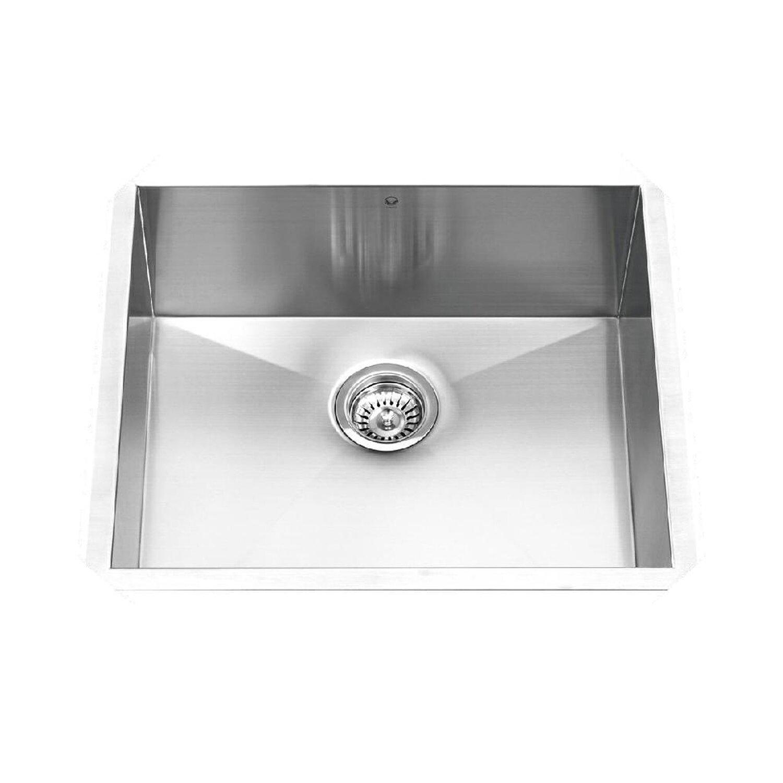 16 Gauge Undermount Stainless Steel Sink : ... 23 inch Undermount Single Bowl 16 Gauge Stainless Steel Kitchen Sink