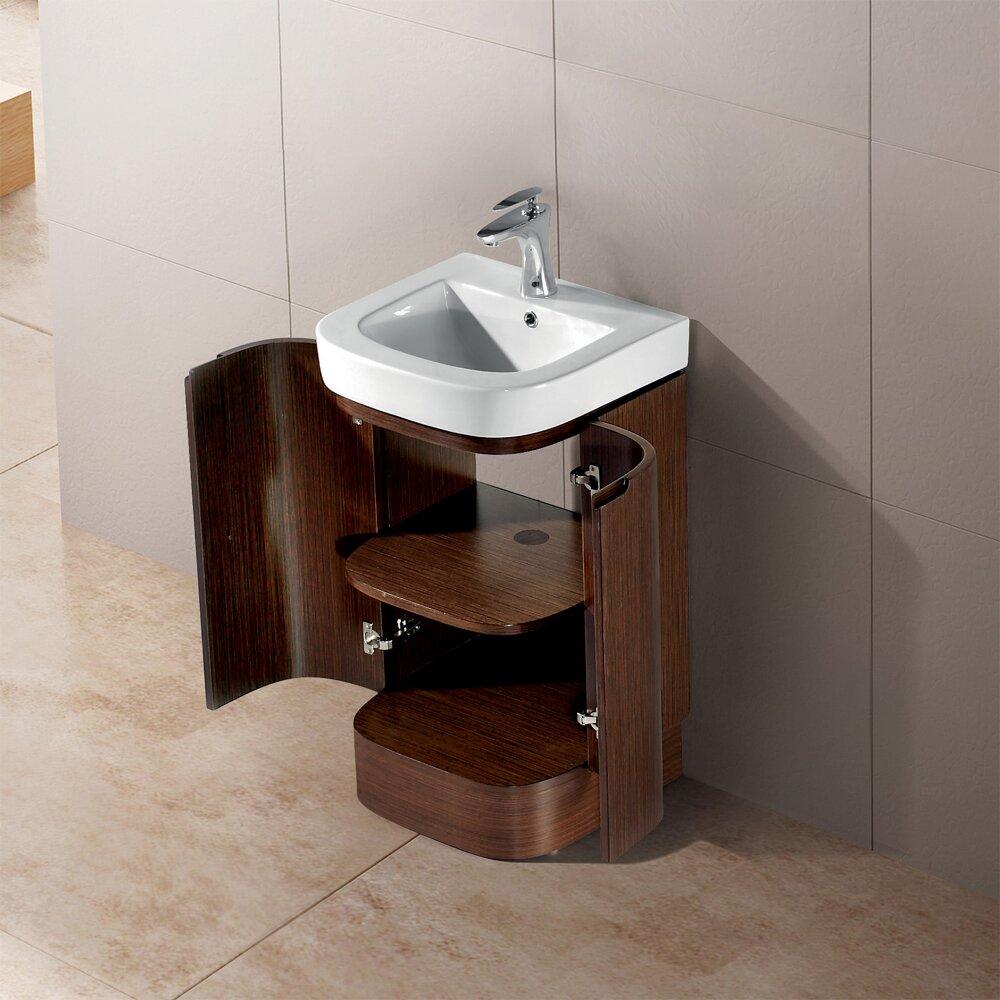 """Vigo Calantha 20"""" Single Bathroom Vanity Set & Reviews"""