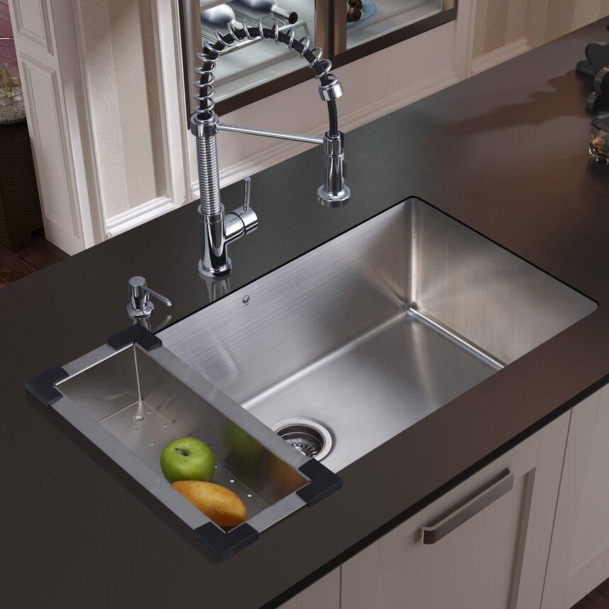 Vigo Chrome Kitchen Sink Strainer