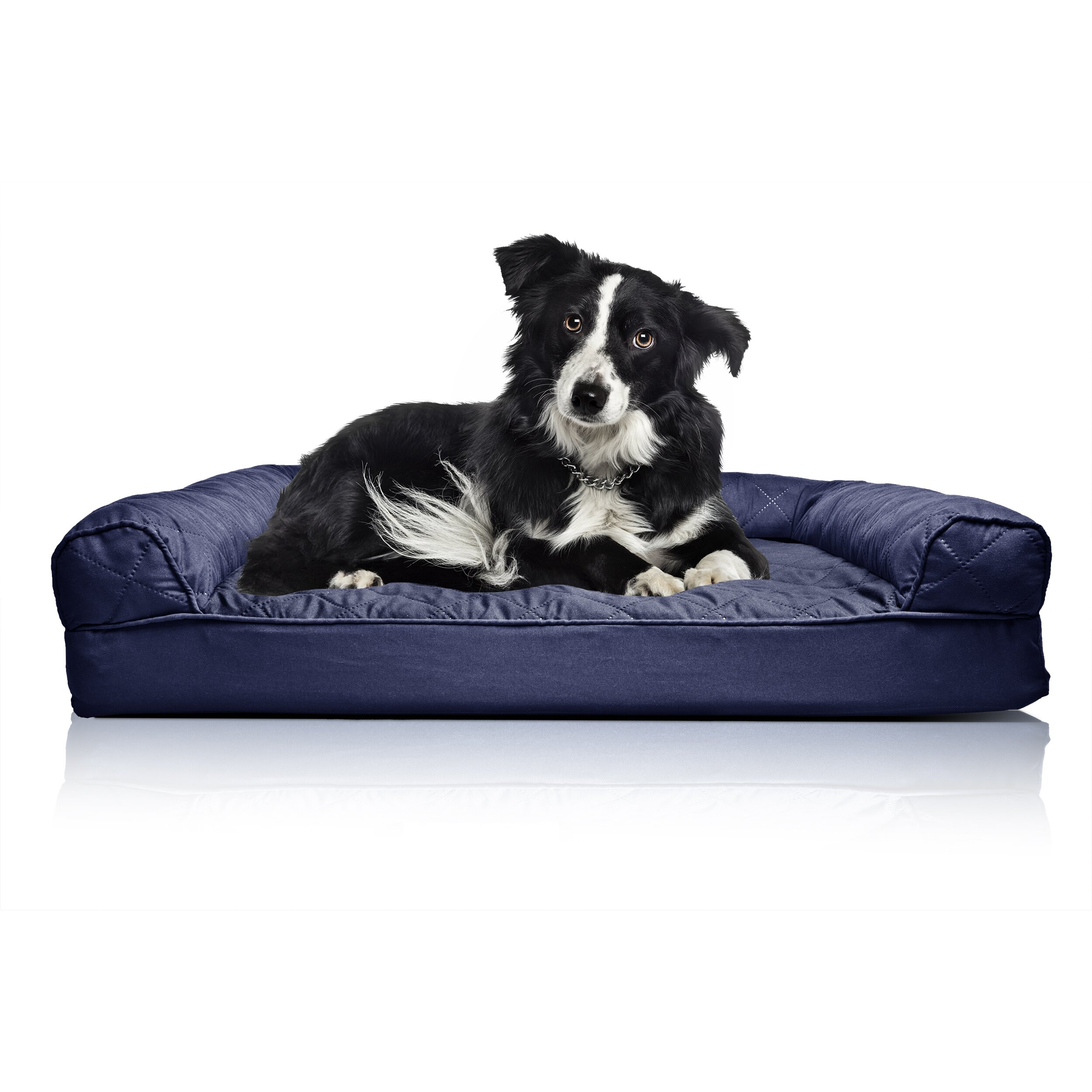 Zoey Tails Quilted Orthopedic Sofa Style Dog Bed amp Reviews  : Zoey Tails Quilted Orthopedic Sofa Style Dog Bed from www.wayfair.com size 2500 x 2500 jpeg 609kB