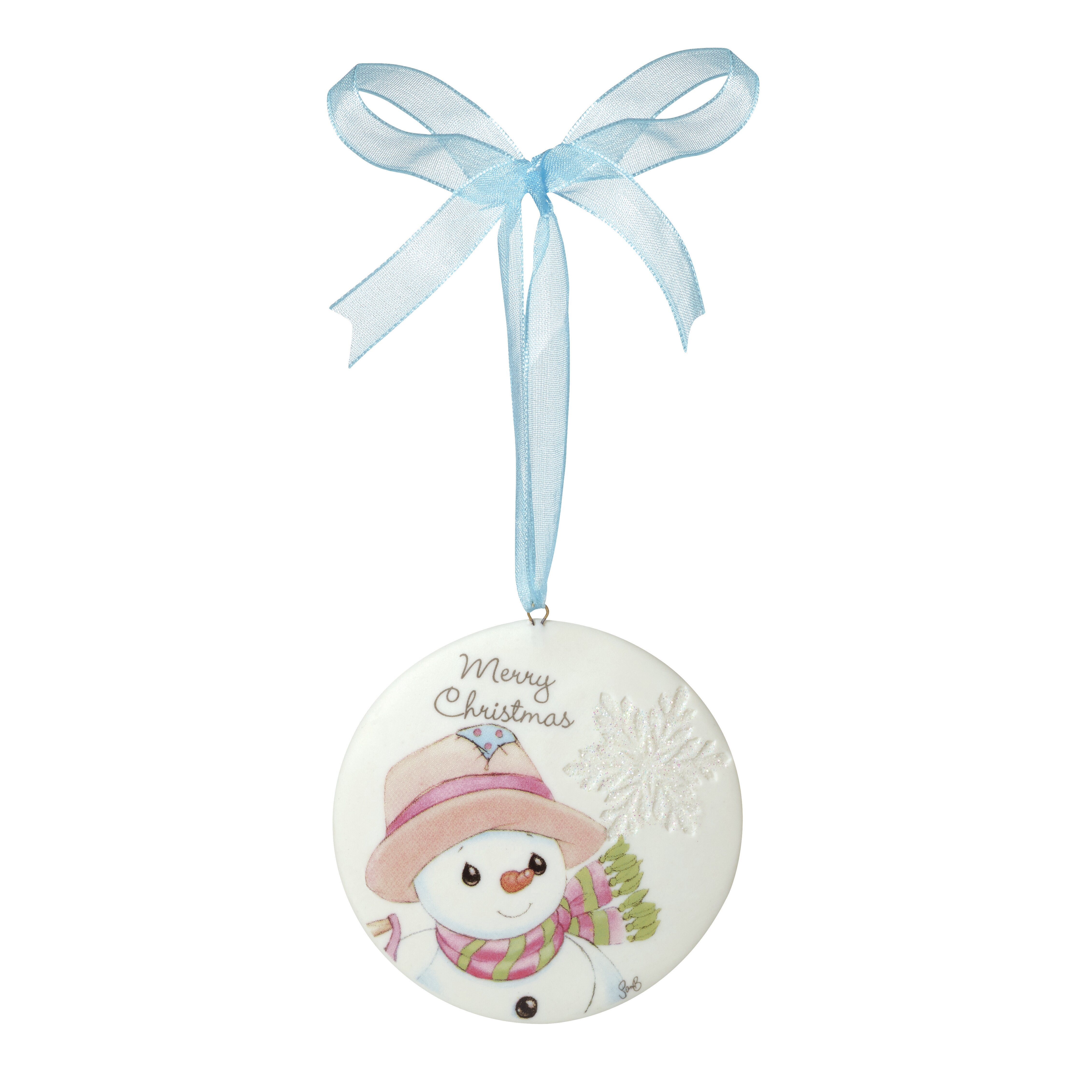 Merry Christmas Ornaments: Precious Moments Merry Christmas Ornament
