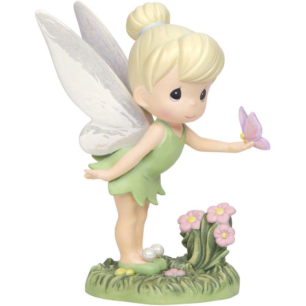 Precious moments wings of wonder tinker bell figurine wayfair - Tinkerbell statues ...