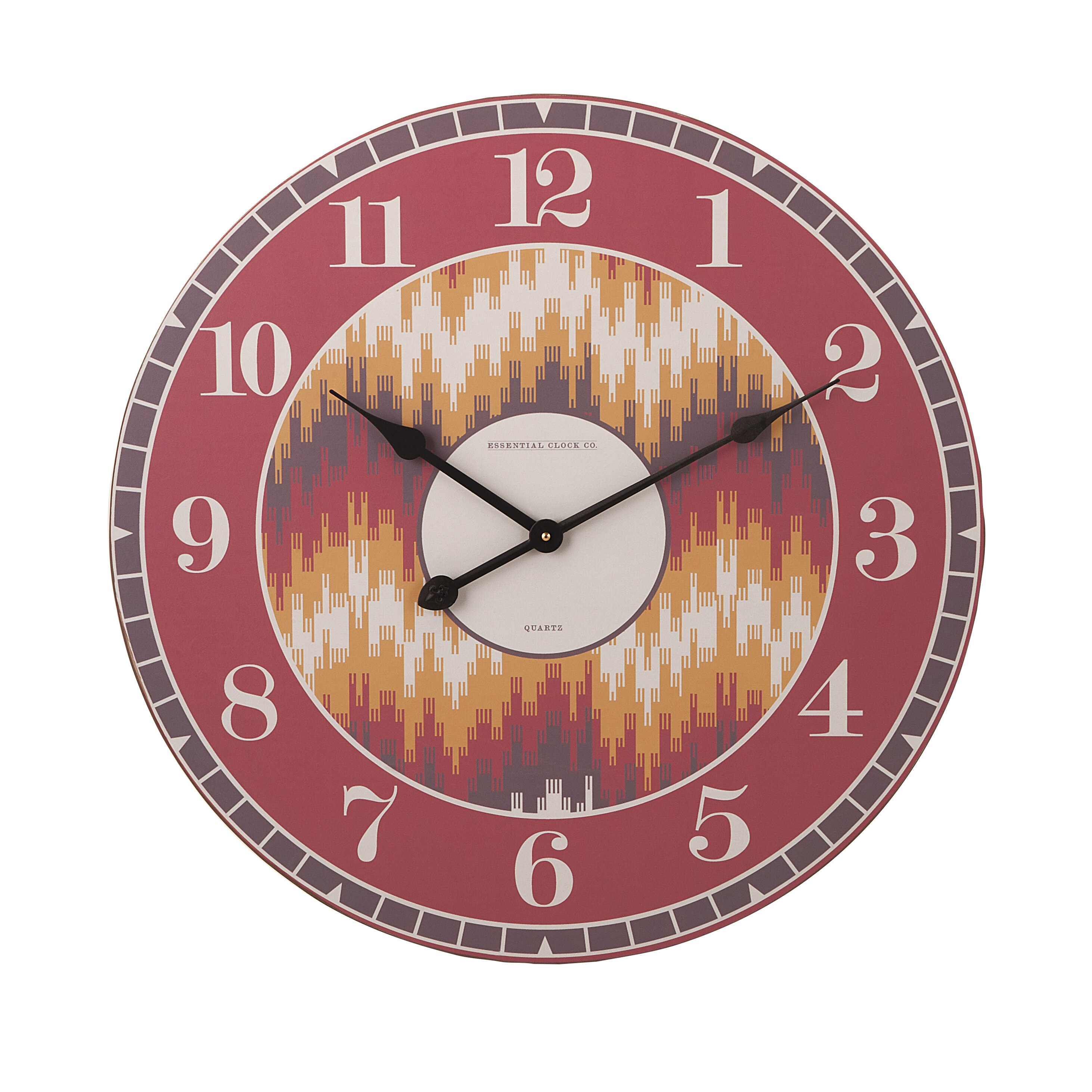 Imax Oversized Essentials Energetic Wall Clock Wayfair