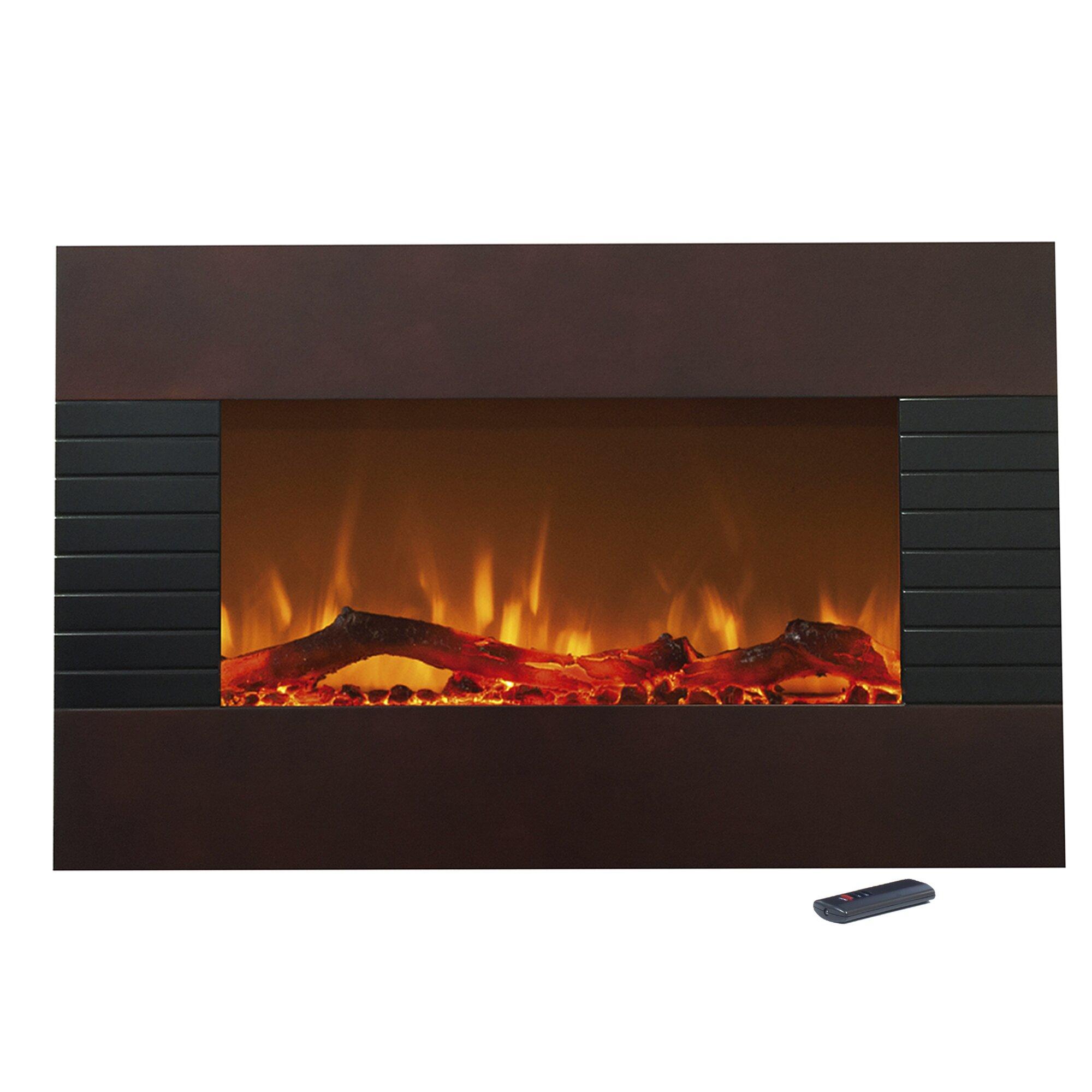 Northwest Wall Mount Electric Fireplace Reviews Wayfair