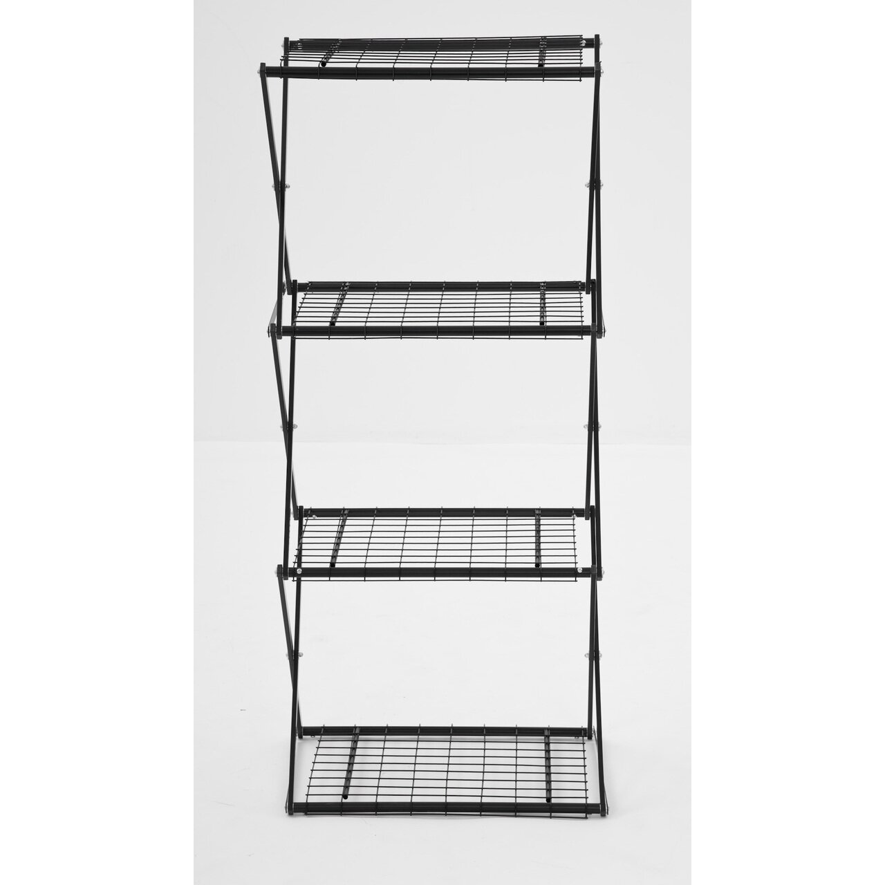 flowerhouse exy narrow x up 48 4 shelf shelving unit. Black Bedroom Furniture Sets. Home Design Ideas