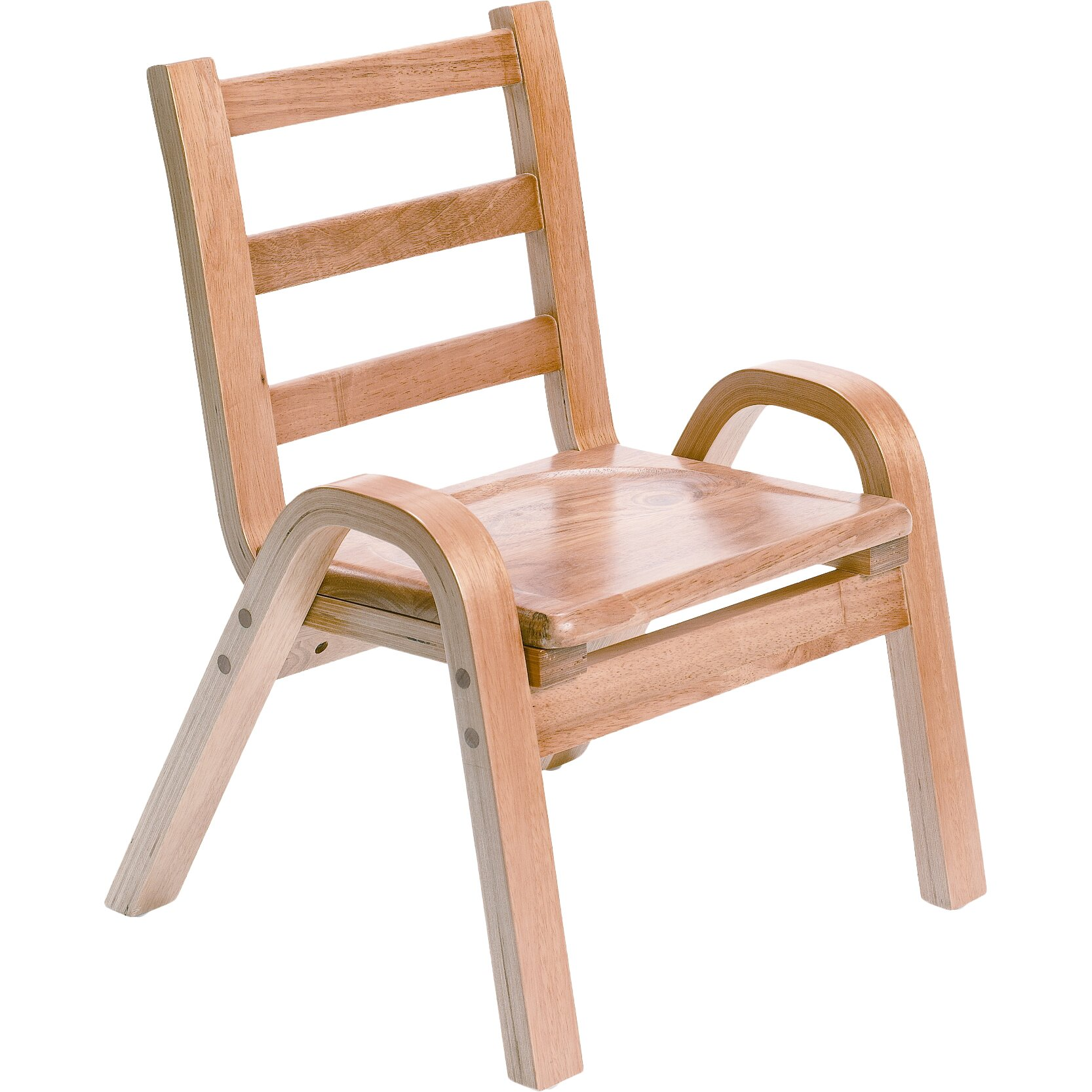 Angeles Wood Classroom Chair Reviews Wayfair